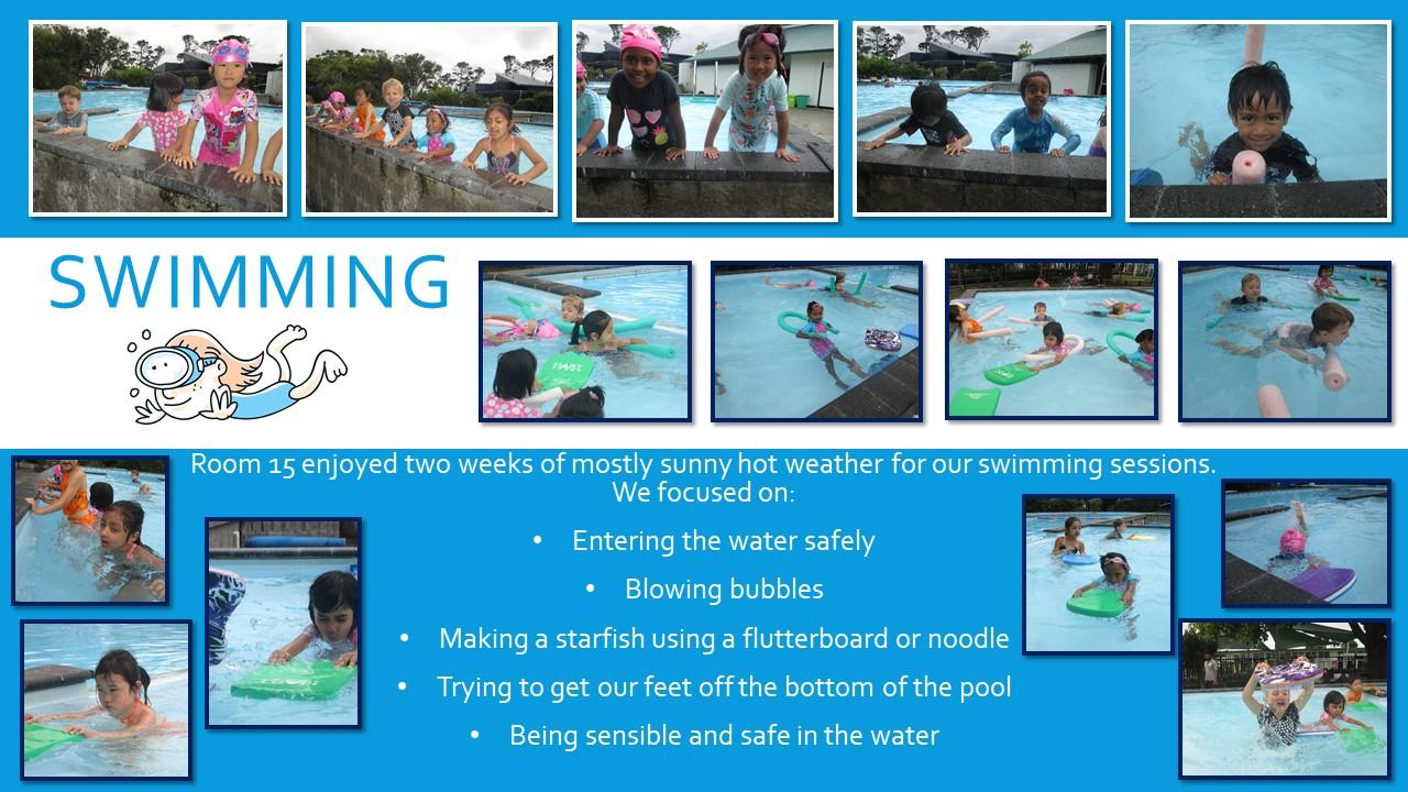 Blockhouse Bay Primary School - Room 16 Swimming