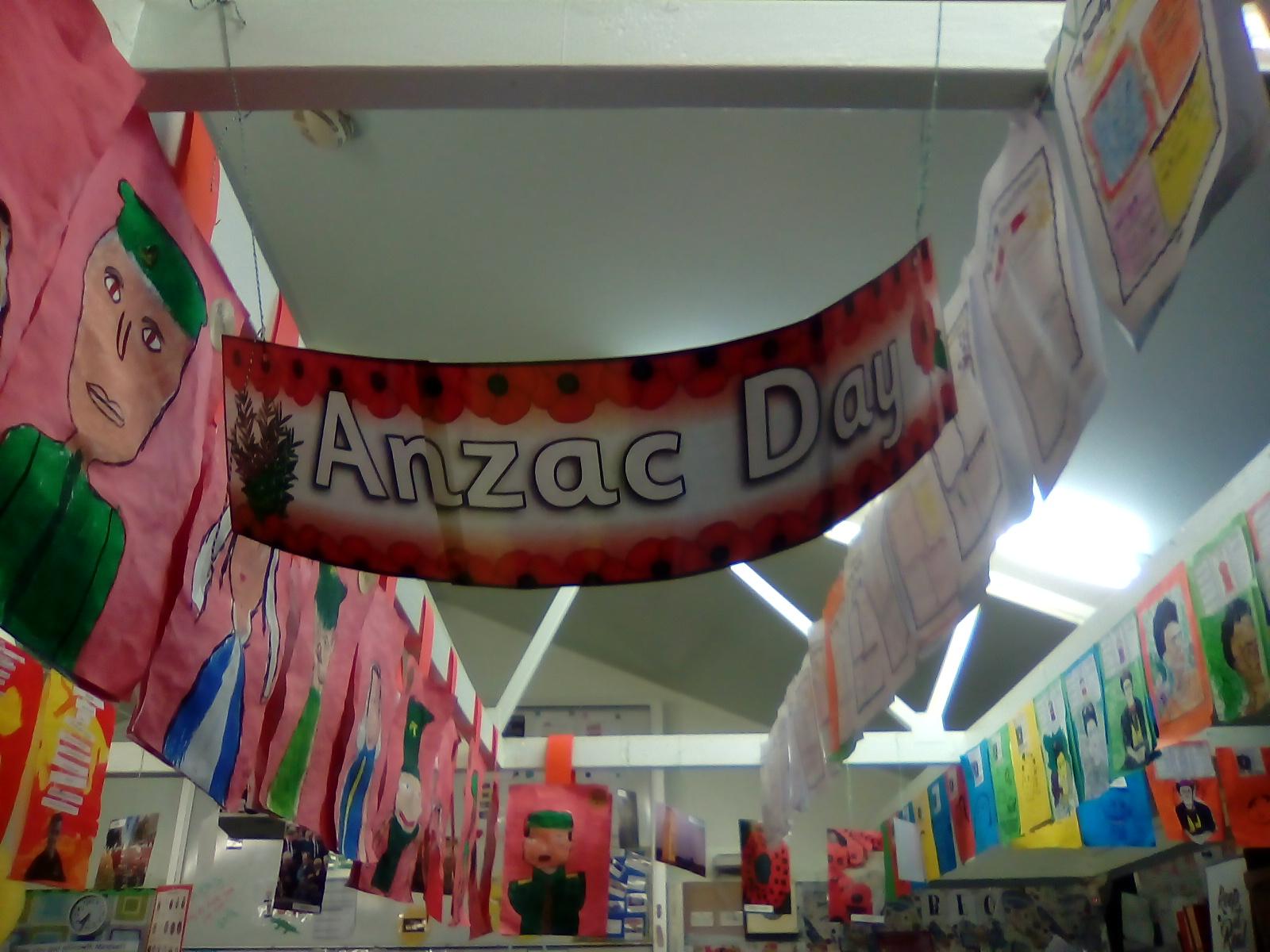 Blockhouse Bay Primary School - Anzac Art