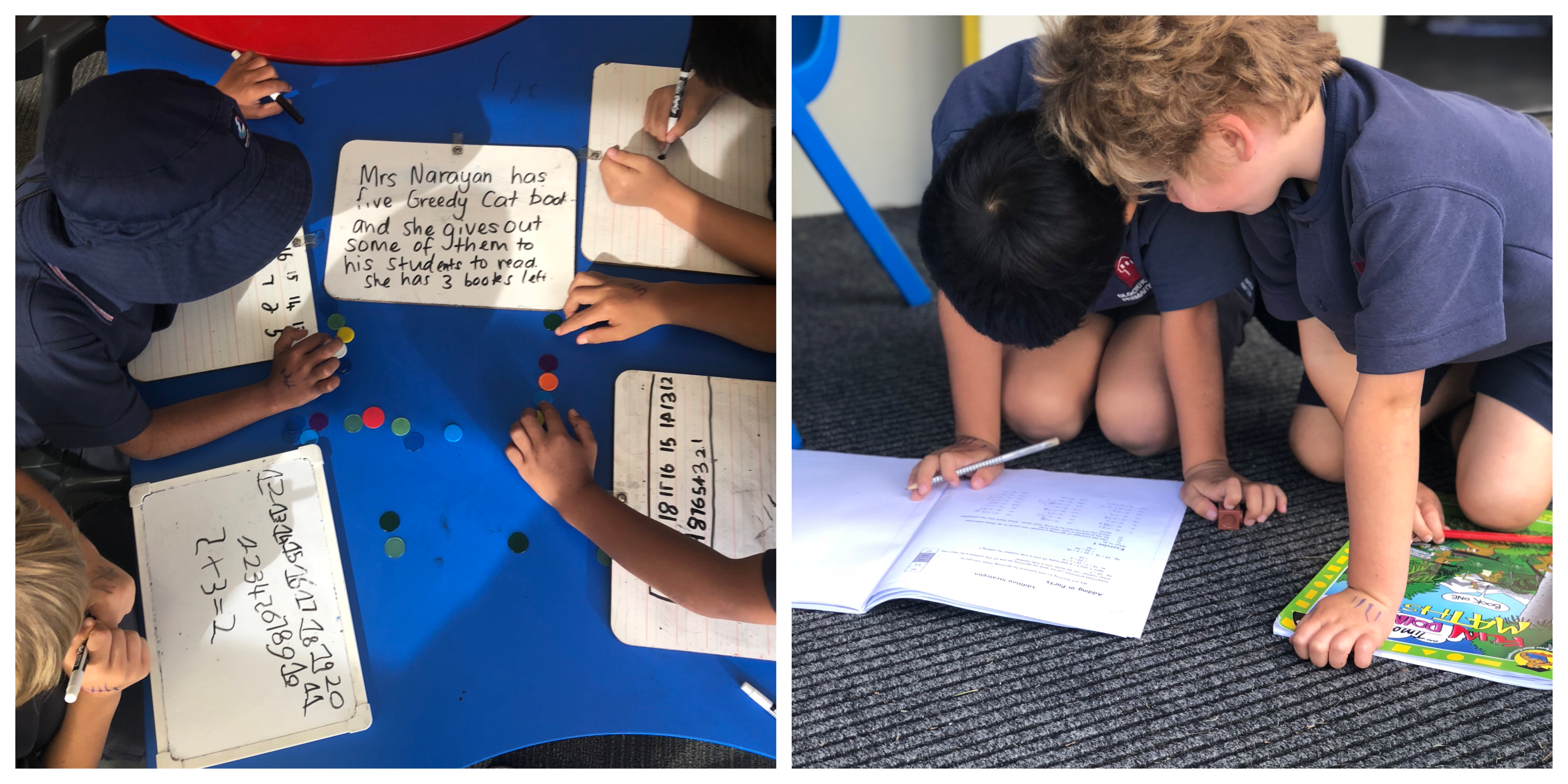 Blockhouse Bay Primary School - Maths Inquiry in Room 23
