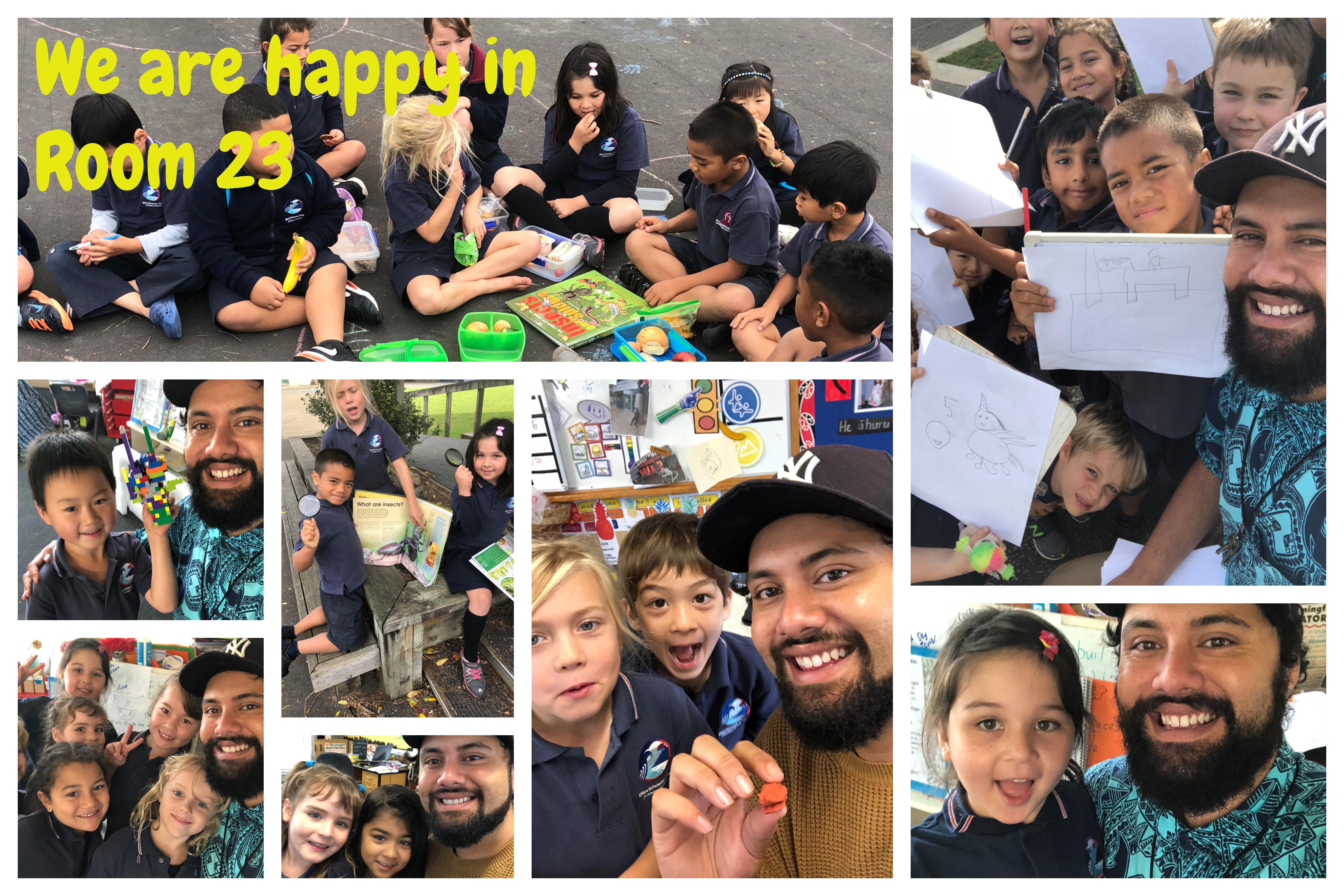Blockhouse Bay Primary School - Selfie Time