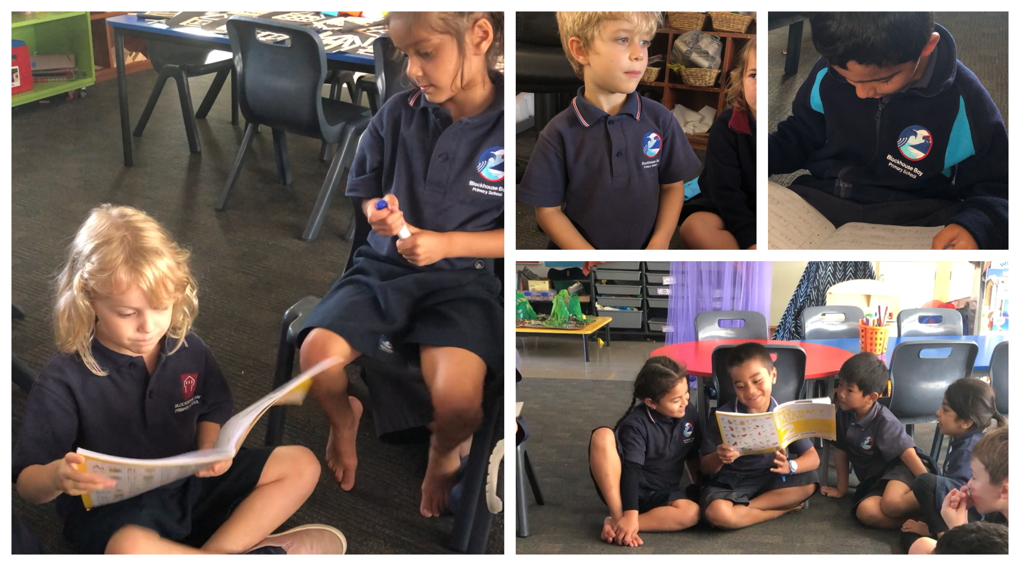 Blockhouse Bay Primary School - Sharing circle in Room 23