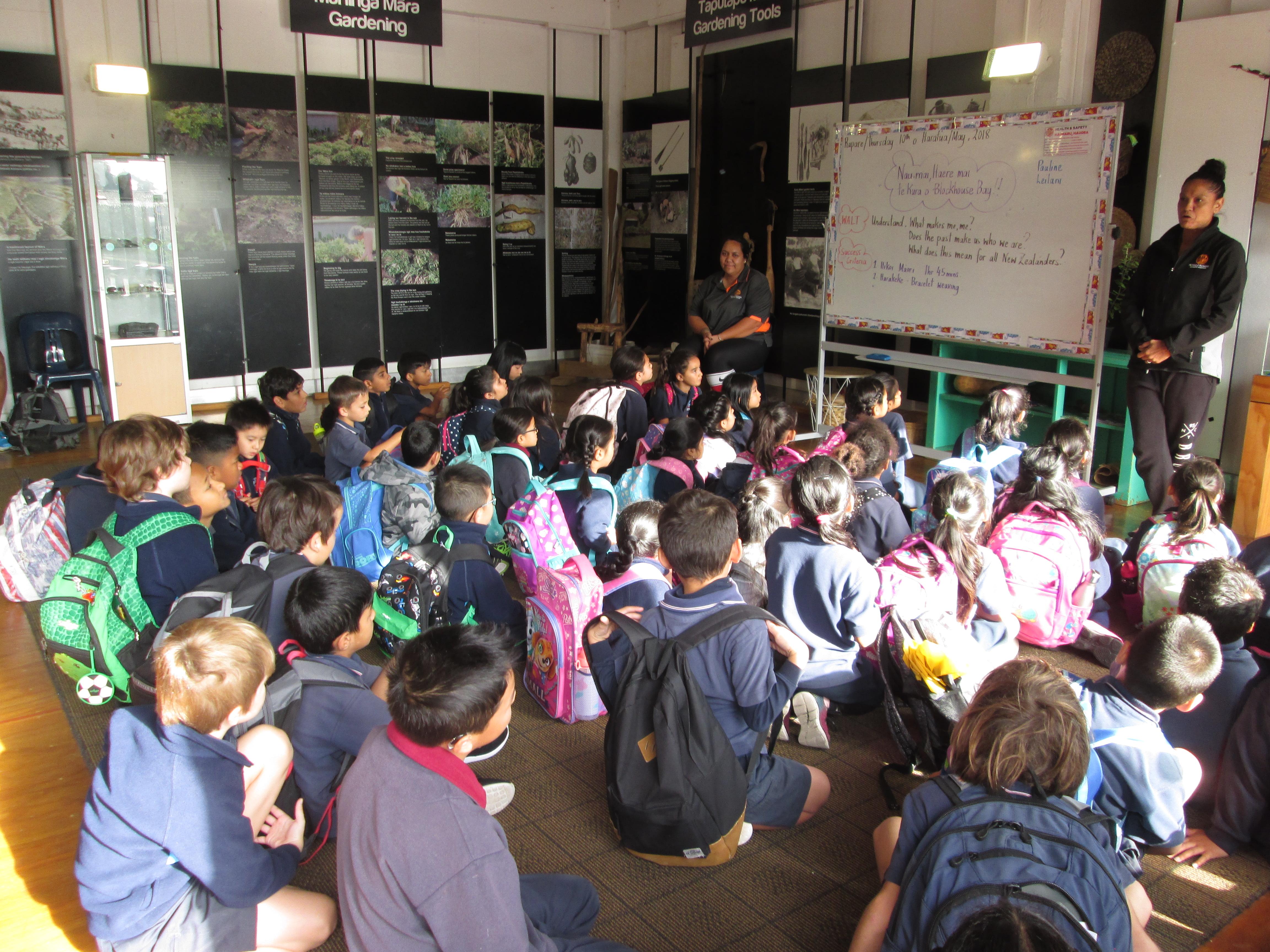 Blockhouse Bay Primary School - Visiting Te Pane o Mataoho