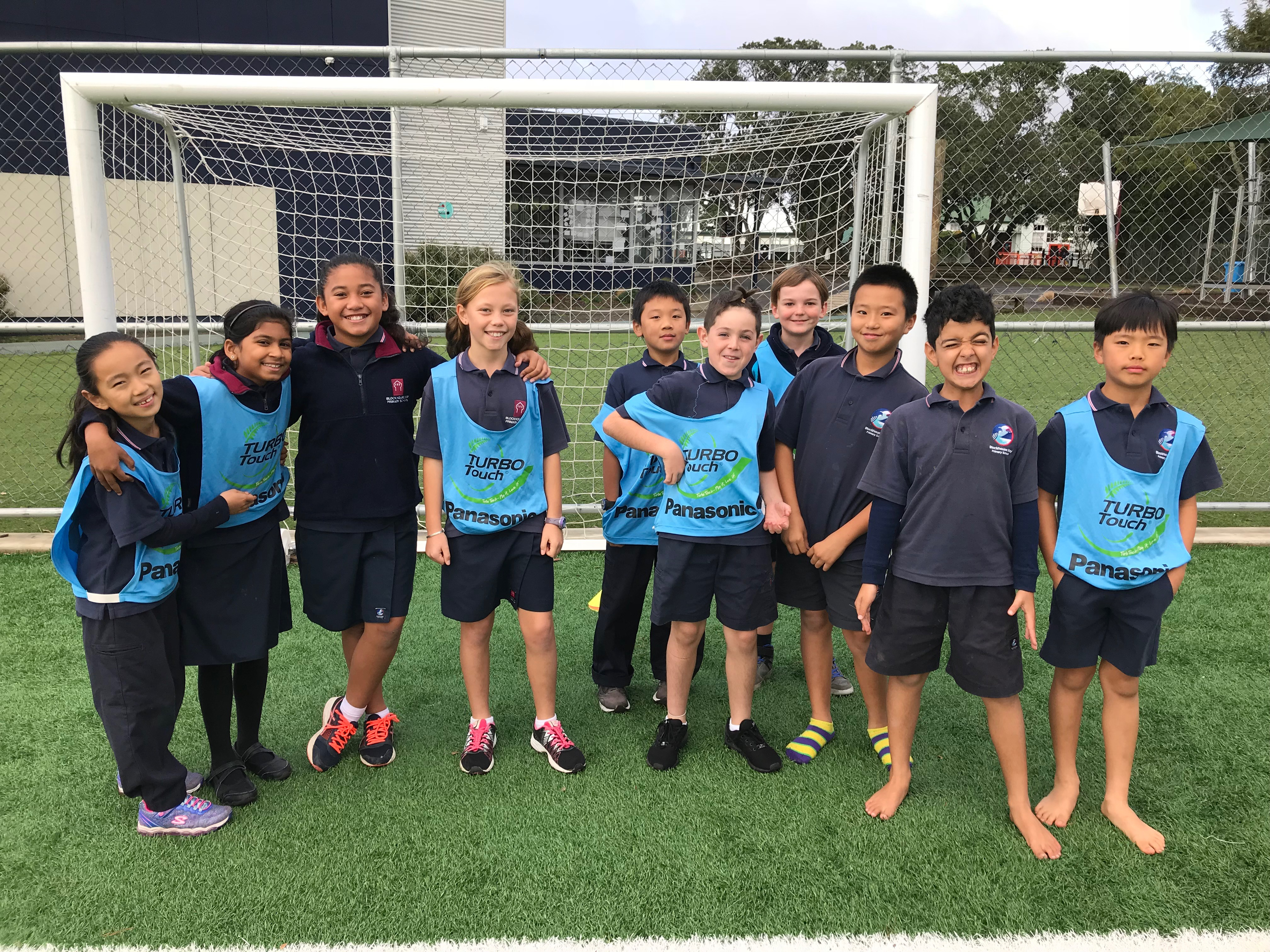 Blockhouse Bay Primary School - Term 2 Kiwisport