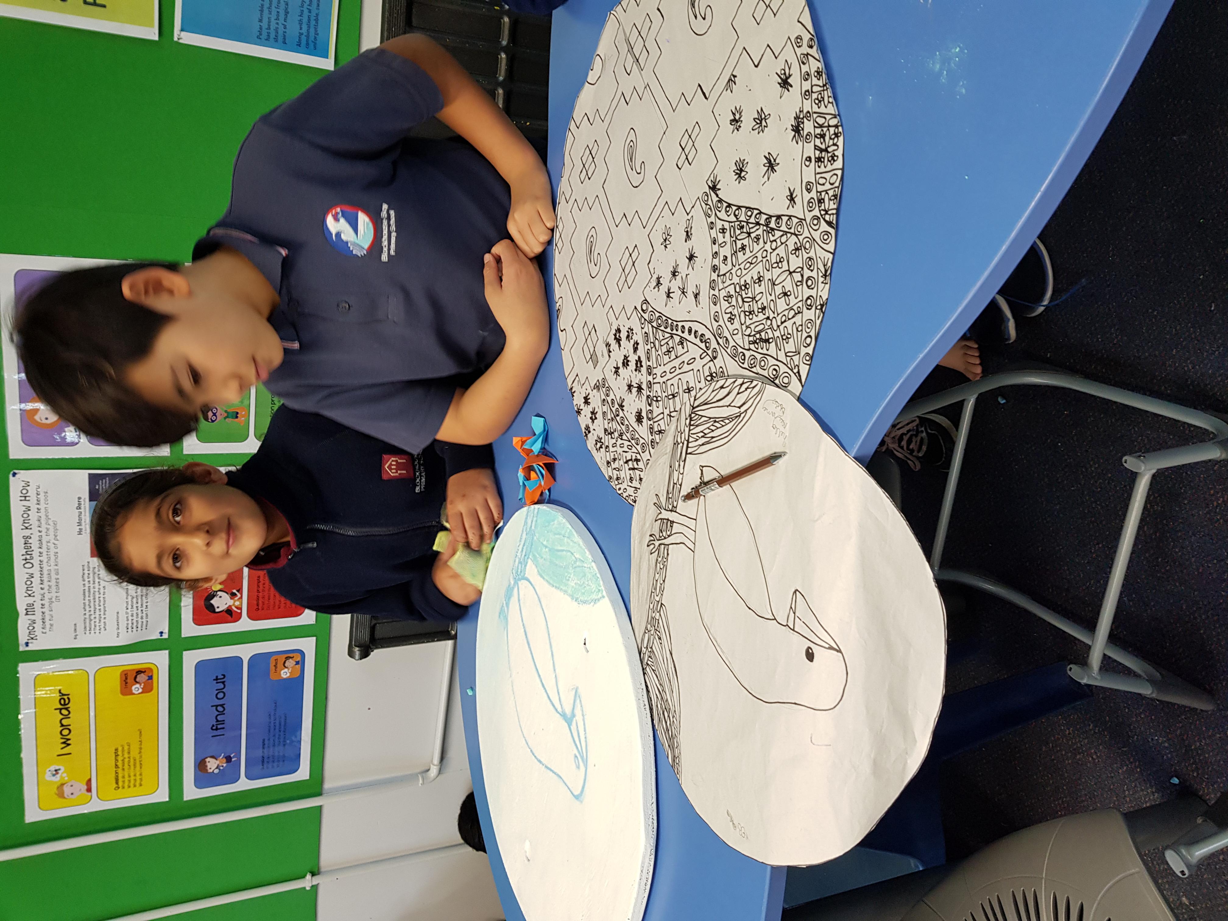 Blockhouse Bay Primary School - Whanau Kotahi Sculptures