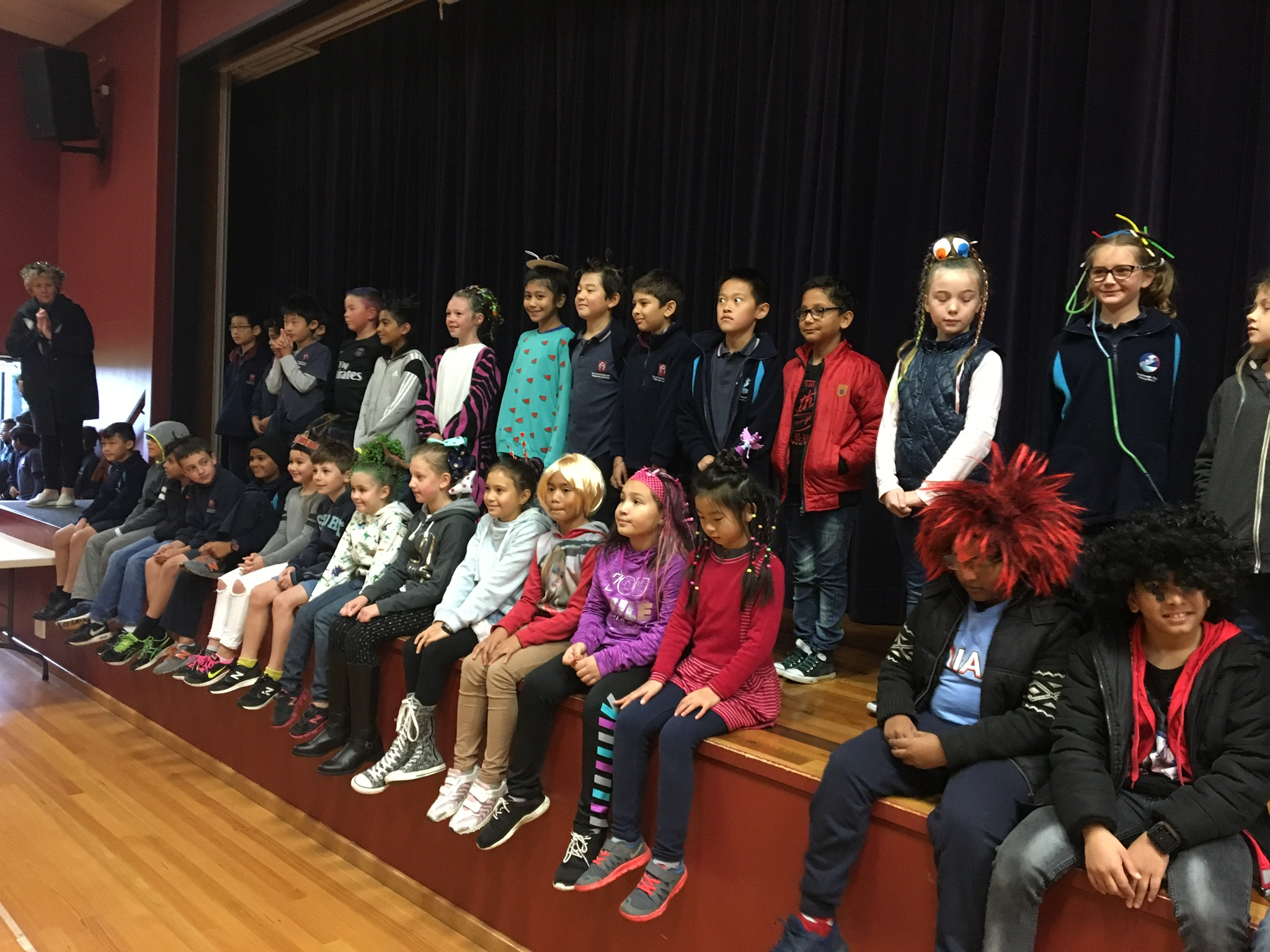 Blockhouse Bay Primary School - Room 10 Wacky hair day