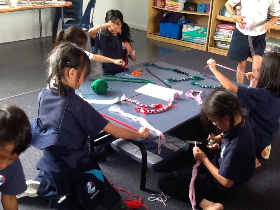 Blockhouse Bay Primary School - Poi Making