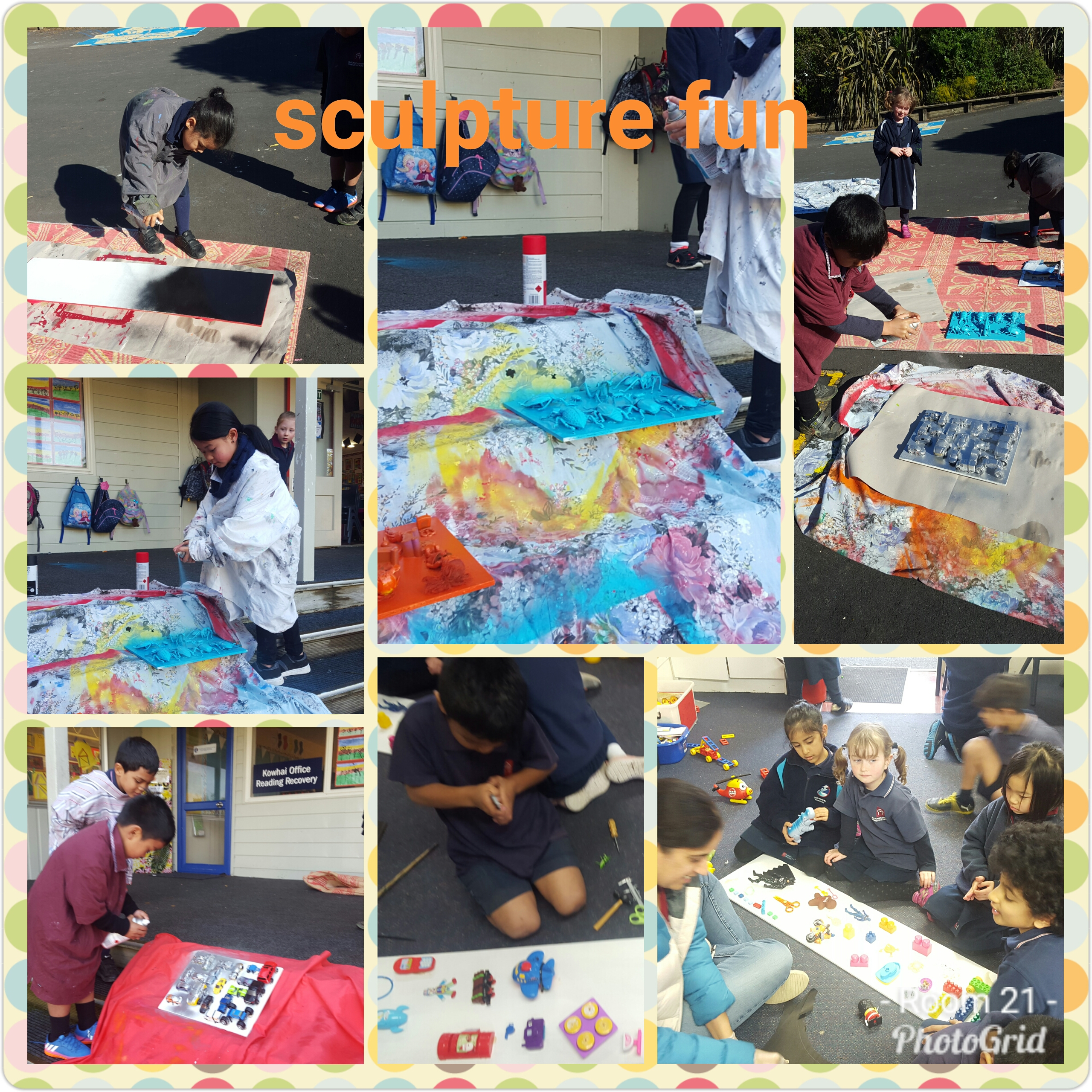 Blockhouse Bay Primary School - Sculpture Art Inquiry