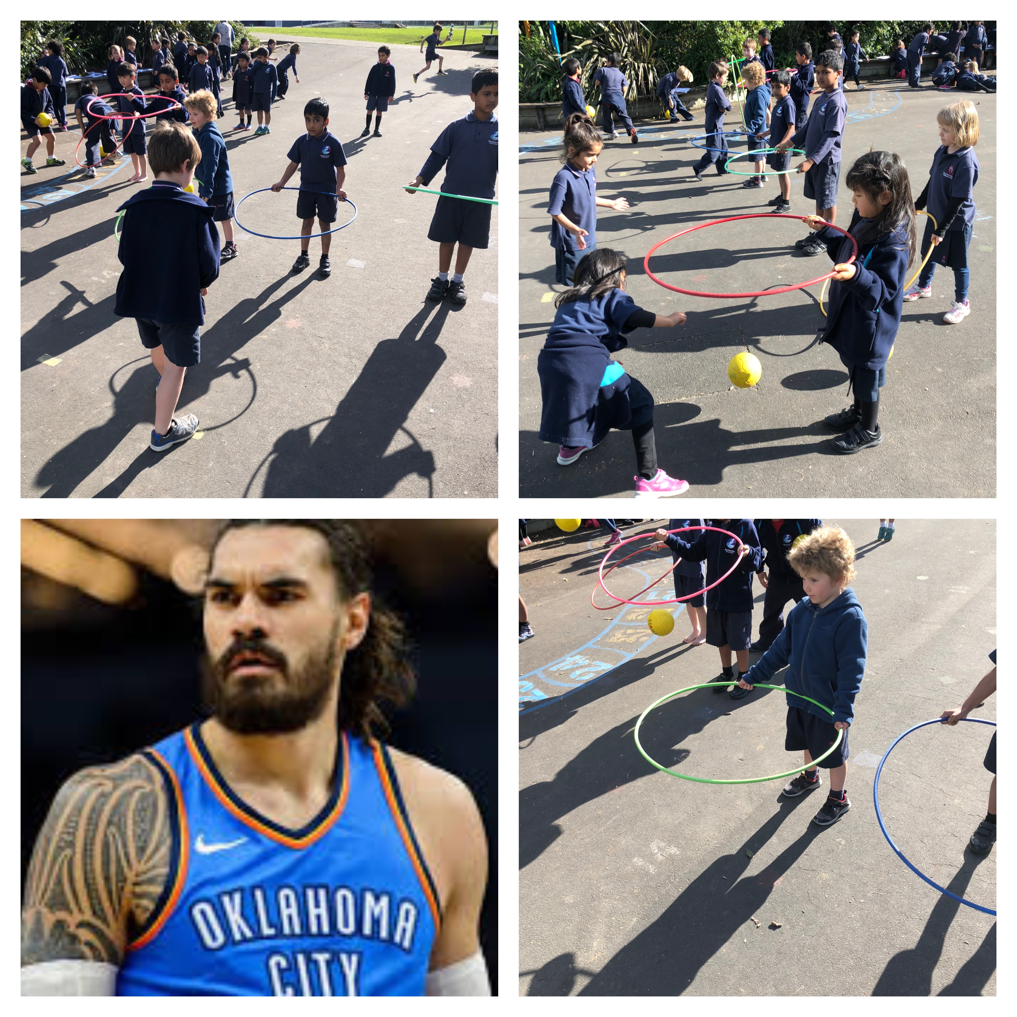 Blockhouse Bay Primary School - Kiwi Sports Hero of the Week: Steven Adams