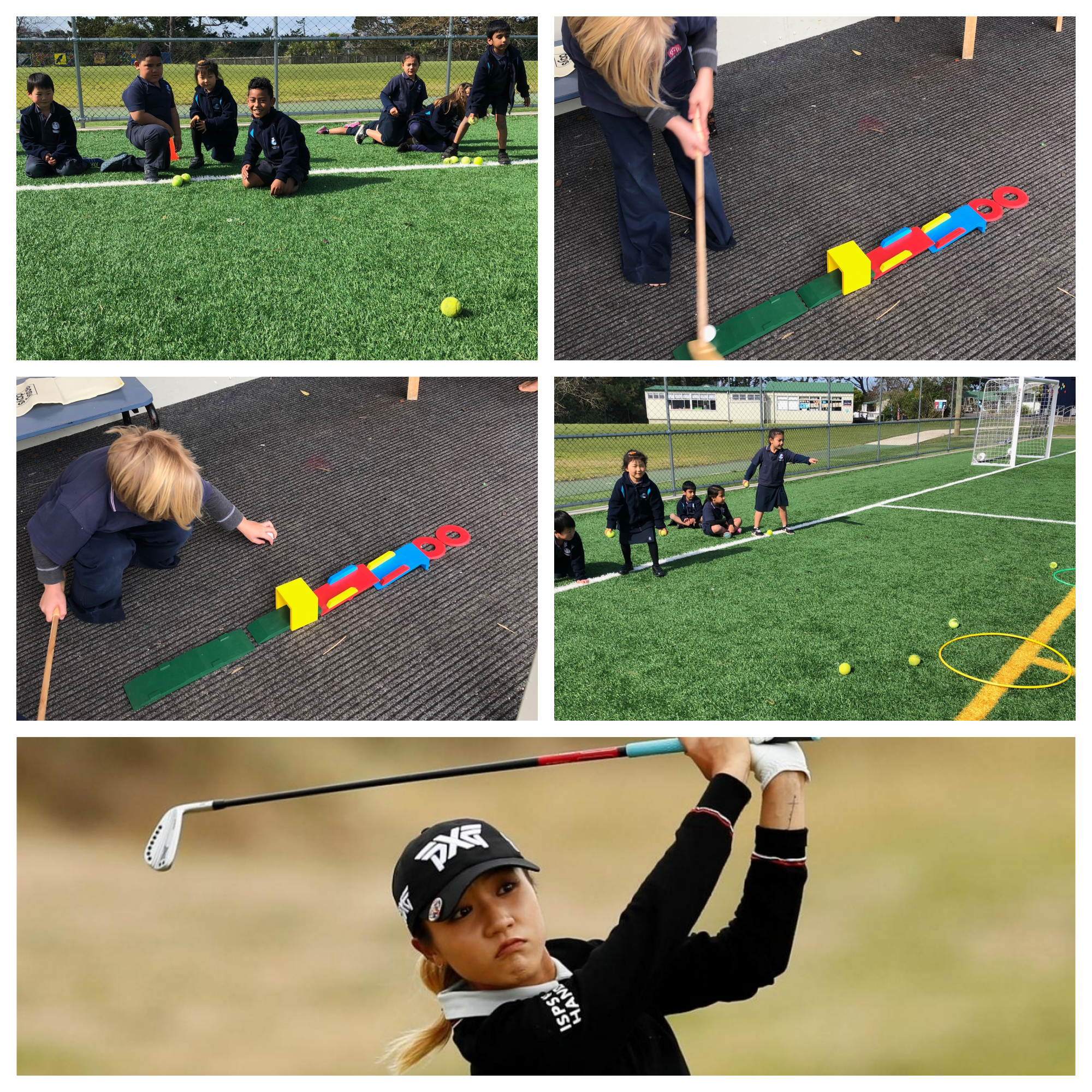 Blockhouse Bay Primary School - Kiwi Sports Hero of the Week: Lydia Ko