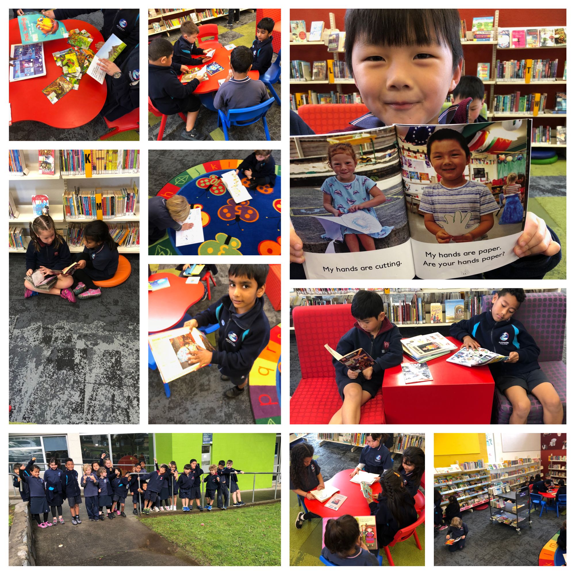 Blockhouse Bay Primary School - Our Visit to the Blockhouse Bay Library
