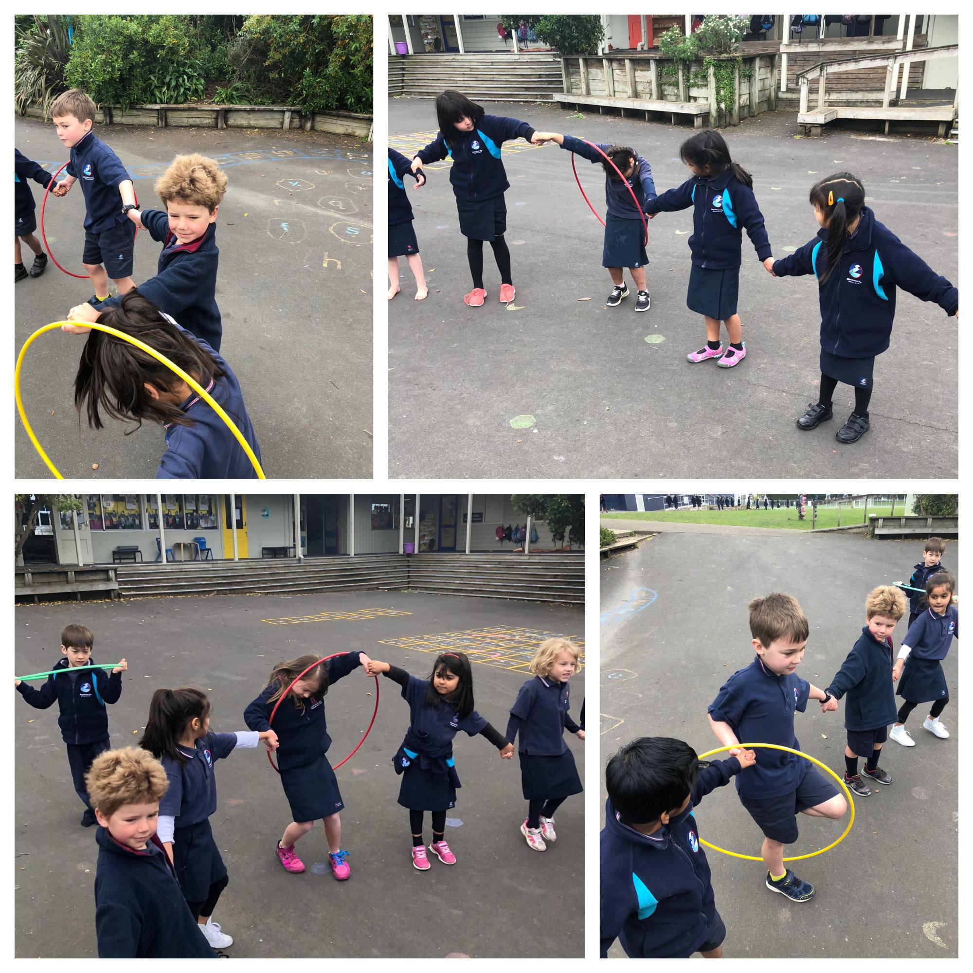 Blockhouse Bay Primary School - Leadership Games