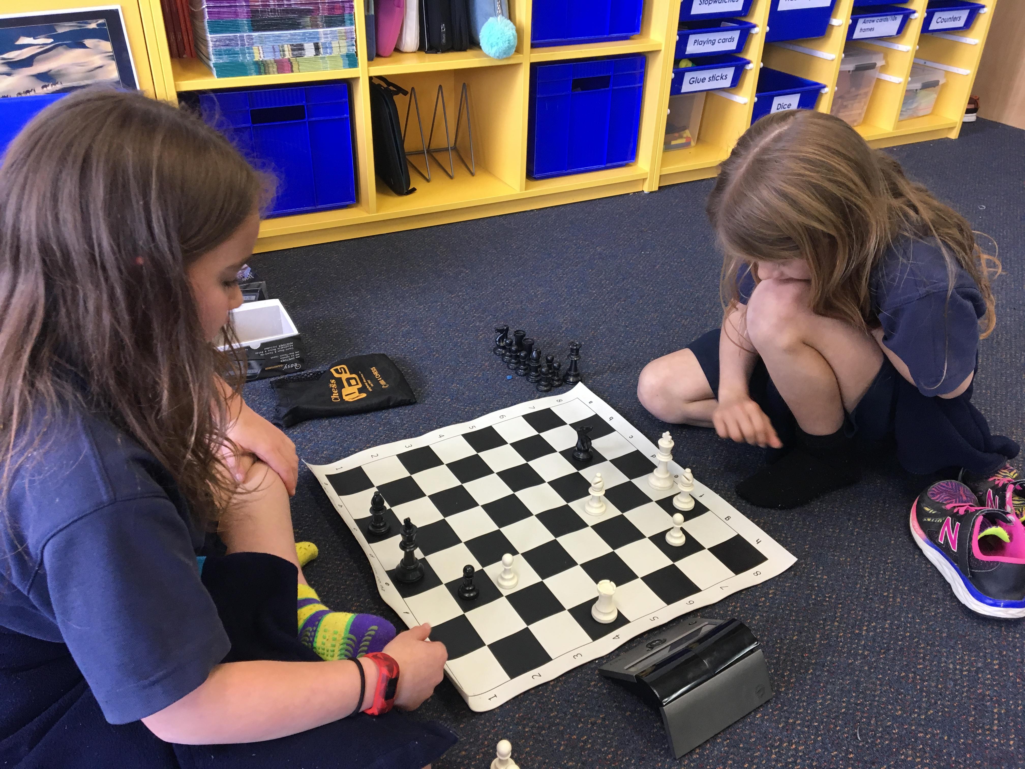 Blockhouse Bay Primary School - Going chess crazy