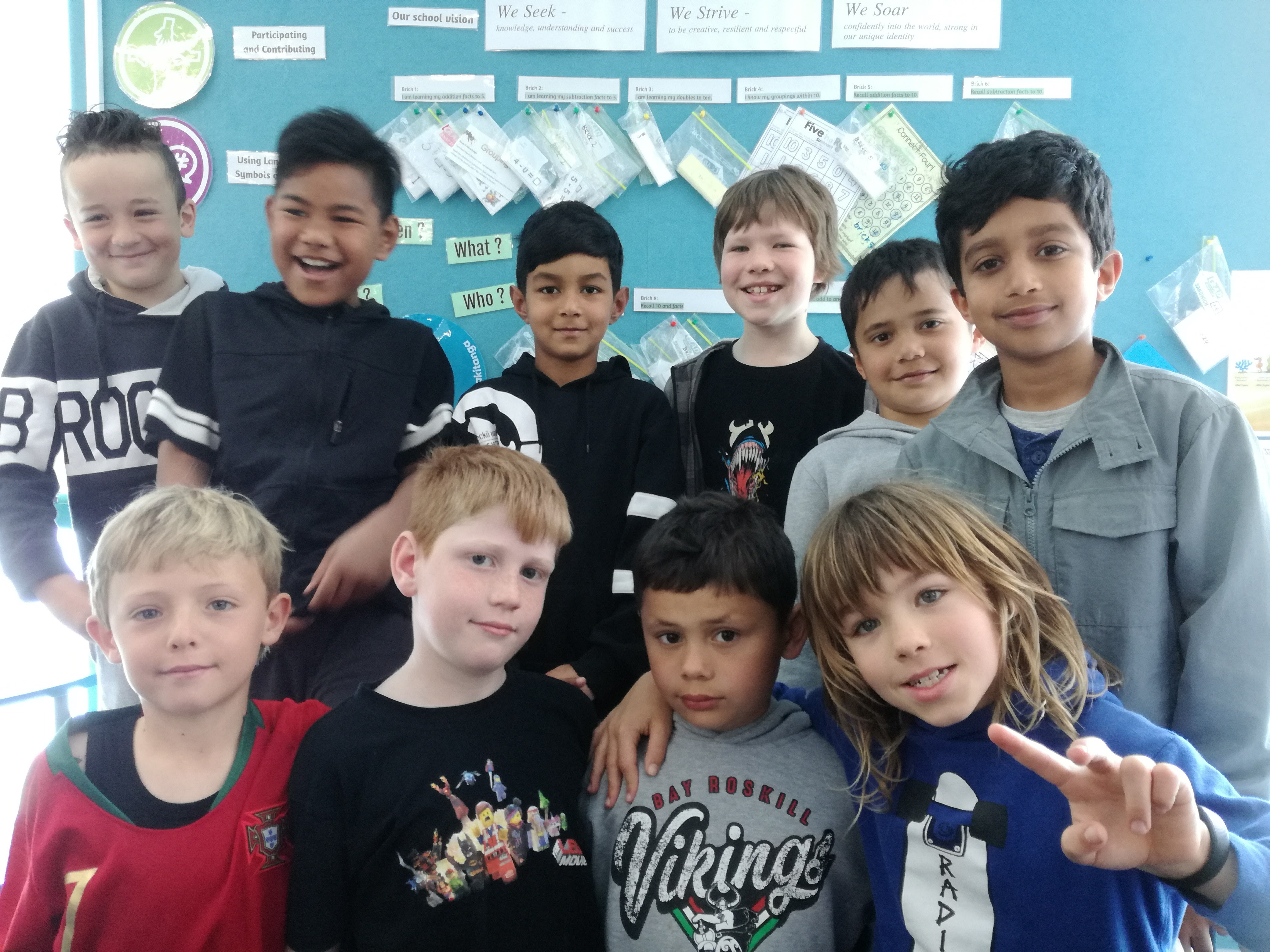 Blockhouse Bay Primary School - Room 2 last day of term 3.