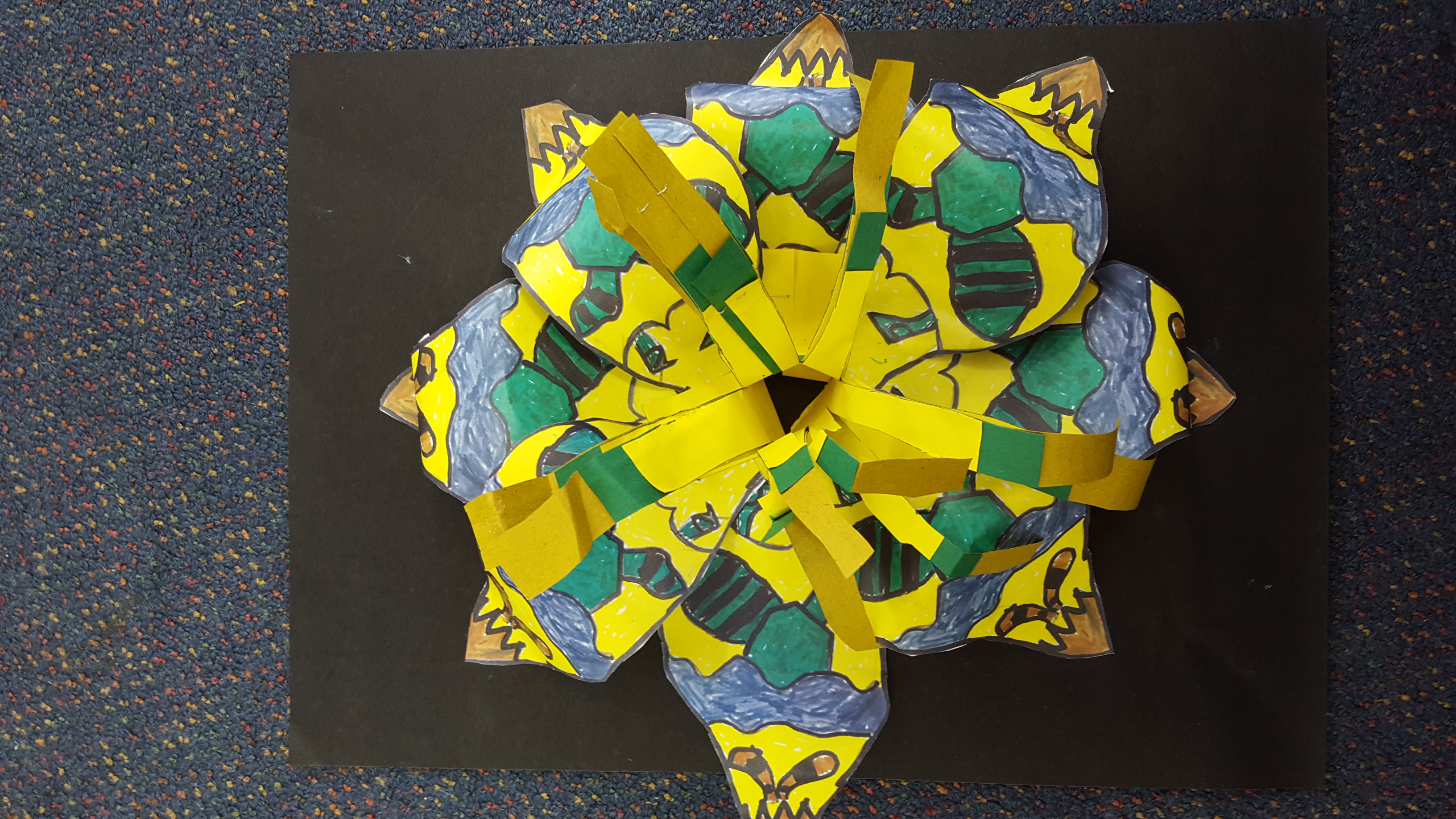 Blockhouse Bay Primary School - 3D Pasifika Flowers