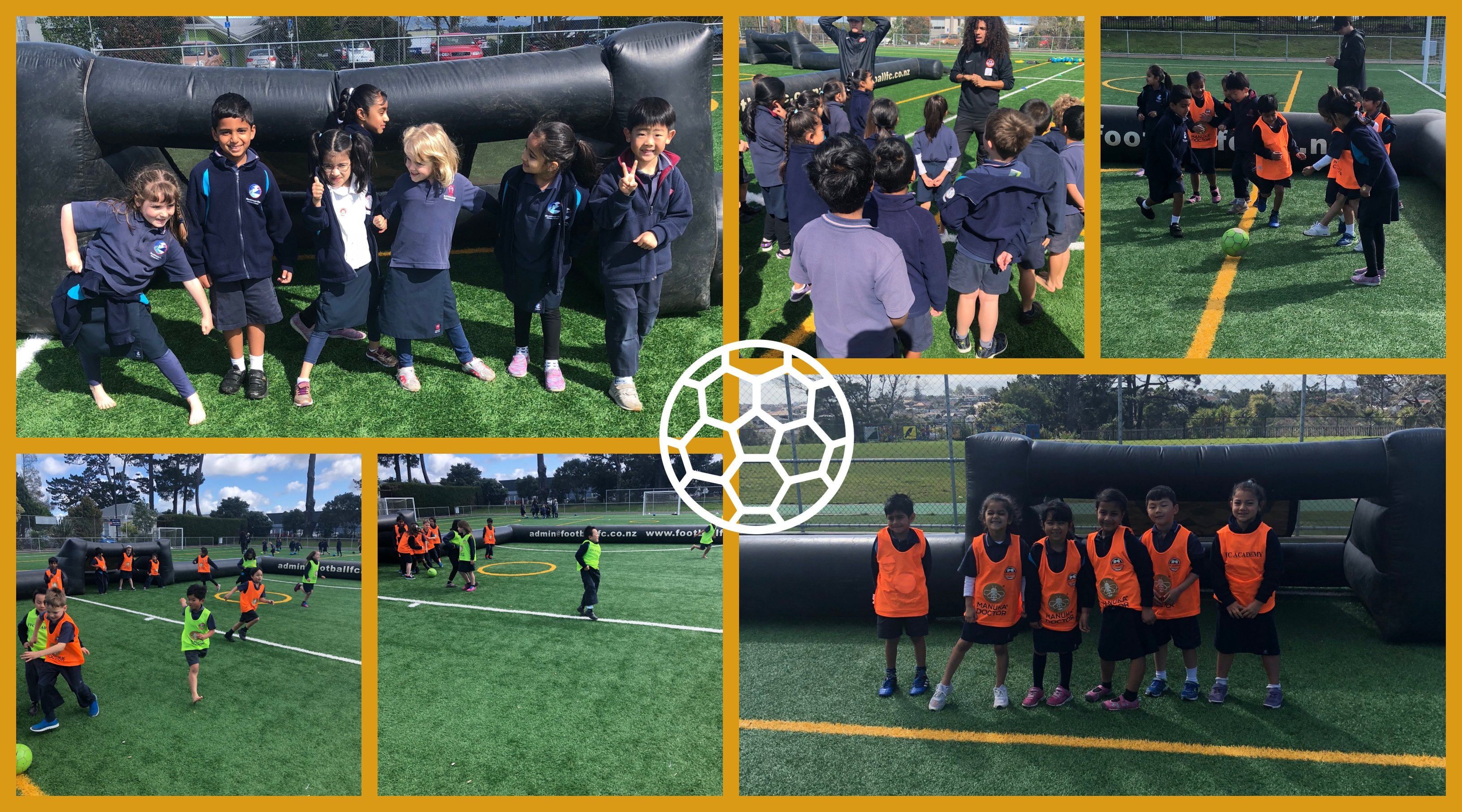 Blockhouse Bay Primary School - Inflatable Football