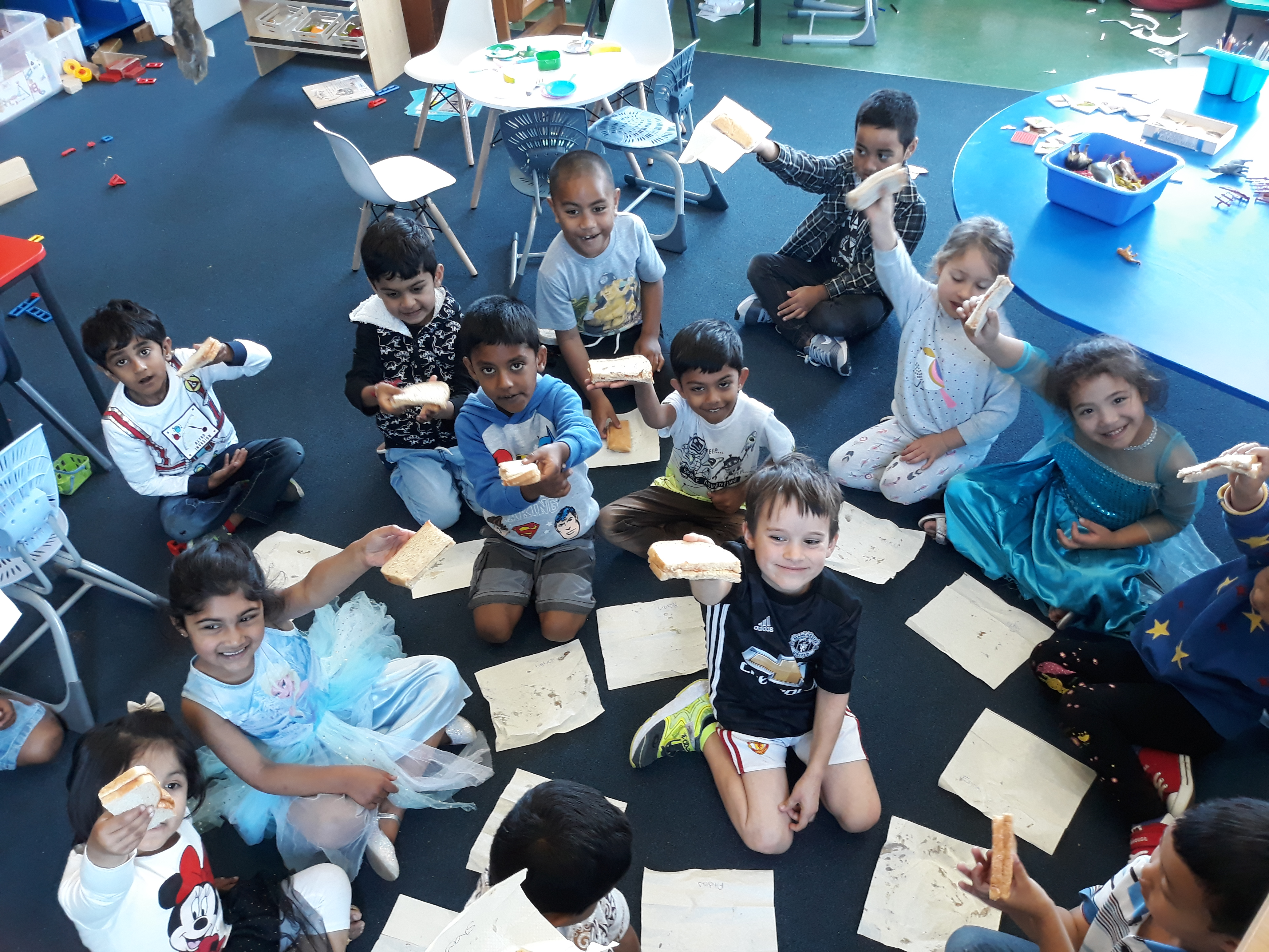 Blockhouse Bay Primary School - Fun with fractions in Room 1