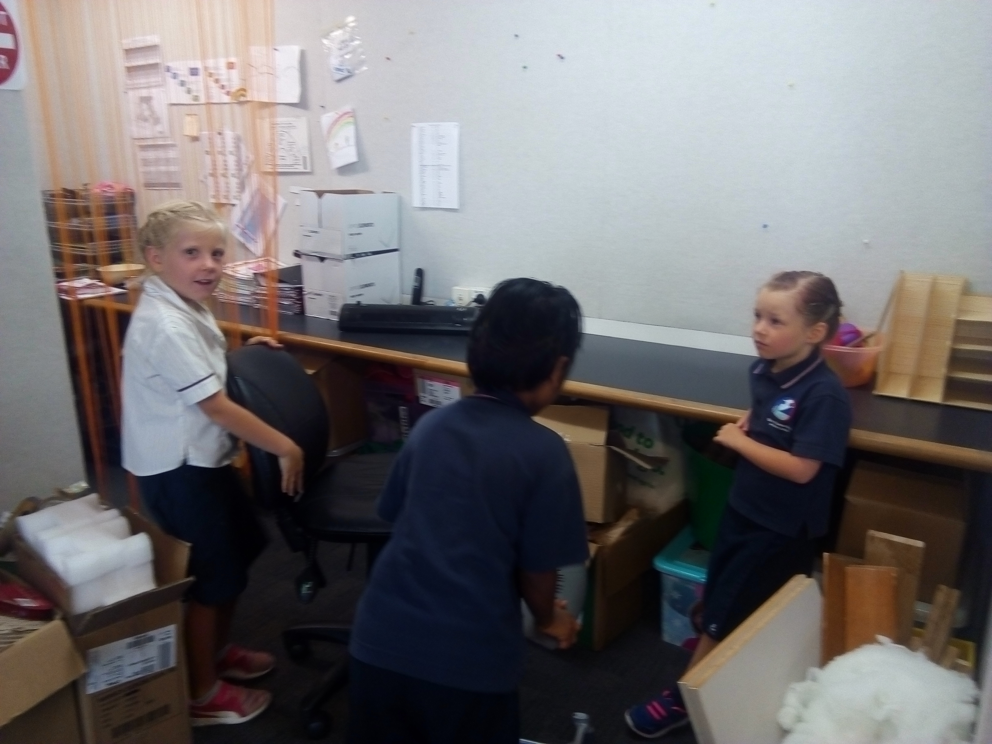 Blockhouse Bay Primary School - Inquiry- Rearranging our space...