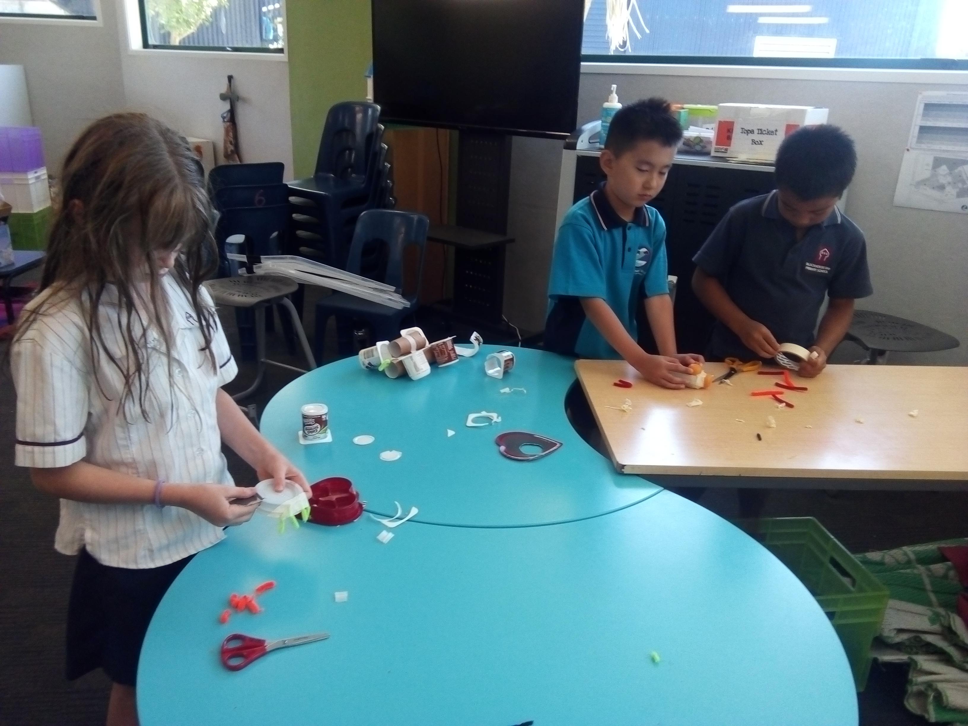 Blockhouse Bay Primary School - Room 3 Makerspace Spiders...
