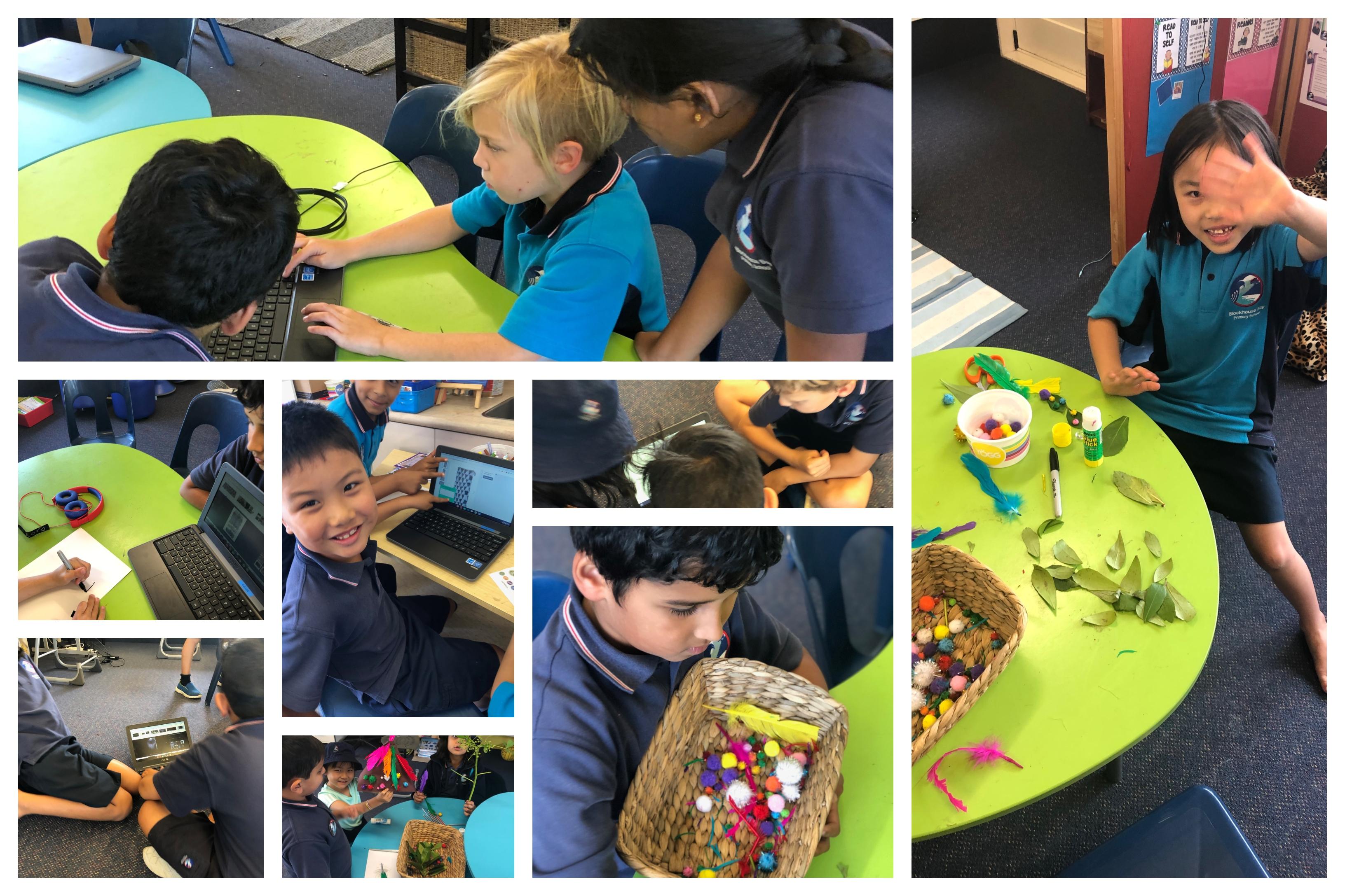 Blockhouse Bay Primary School - Tinkering in Room 14