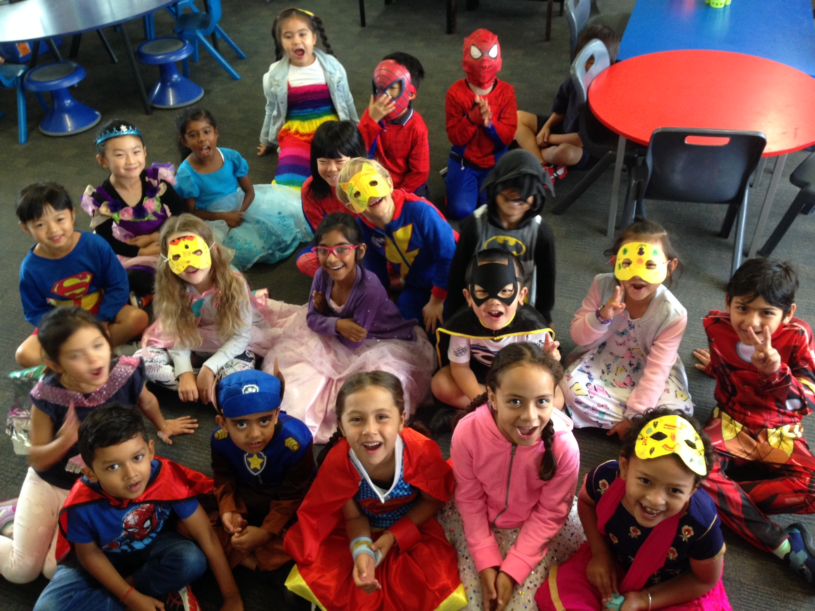 Blockhouse Bay Primary School - Bread and superheroes!