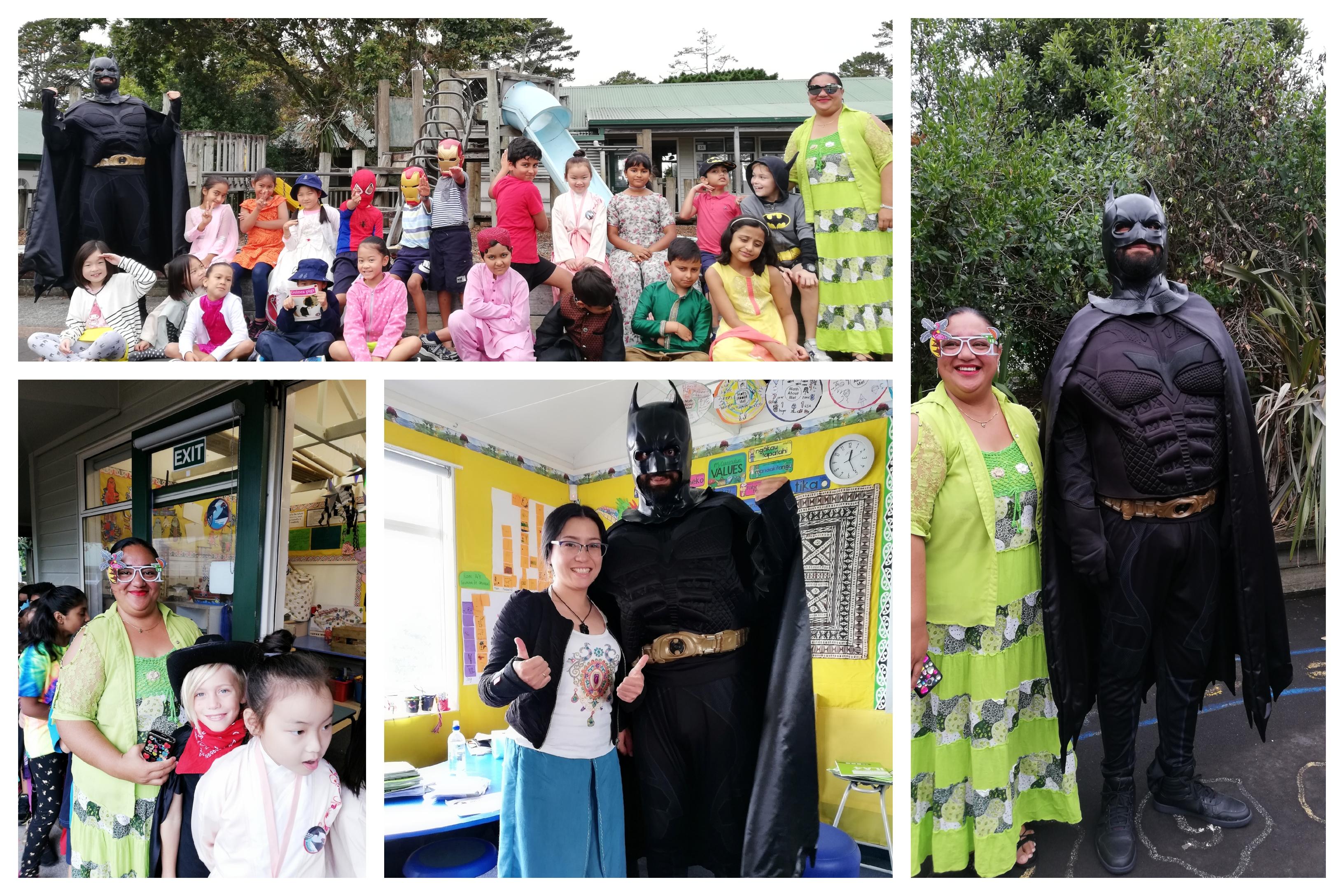 Blockhouse Bay Primary School - Superhero Day at Blockhouse Bay
