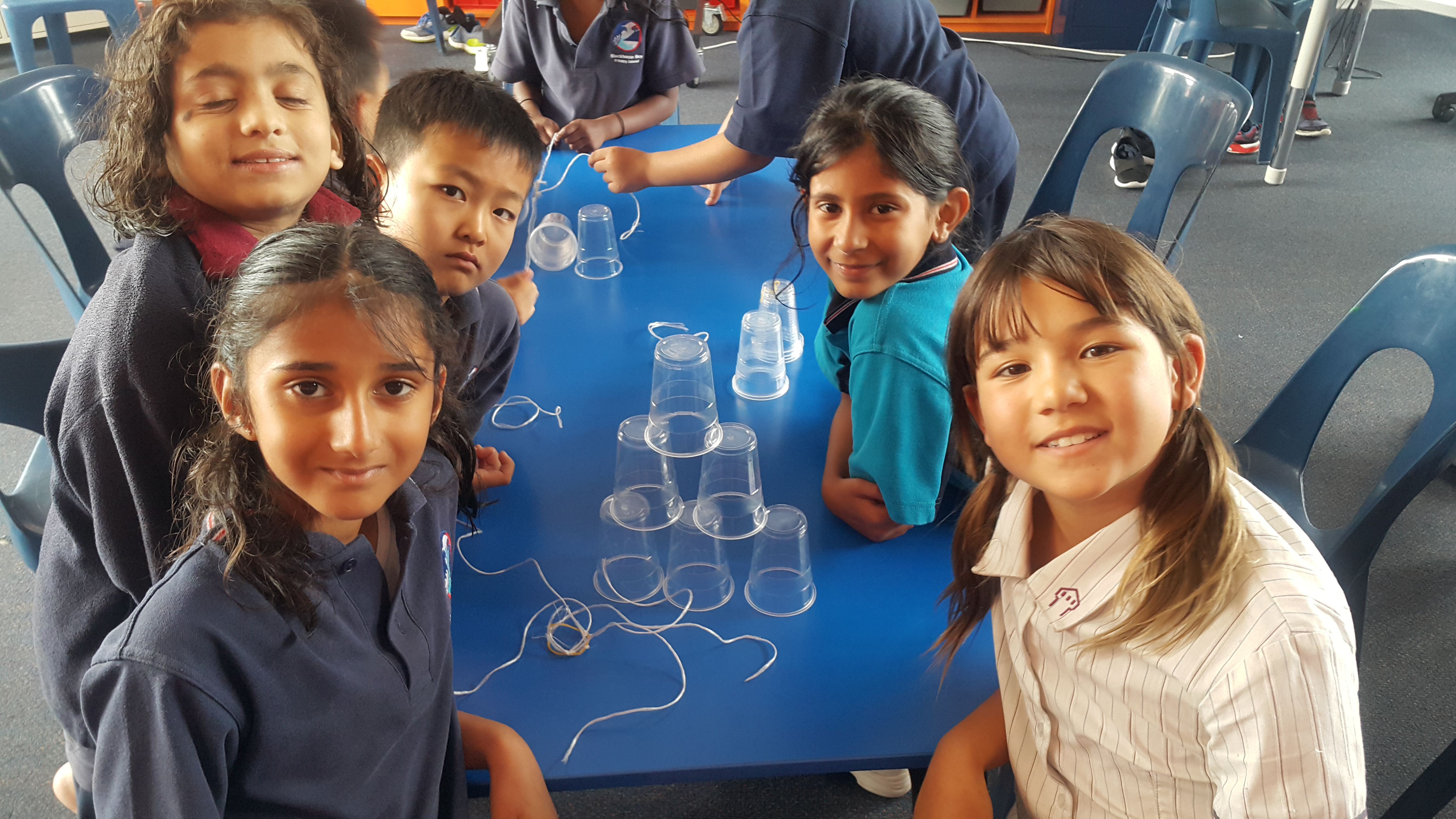 Blockhouse Bay Primary School - Cup Stacking Challenge