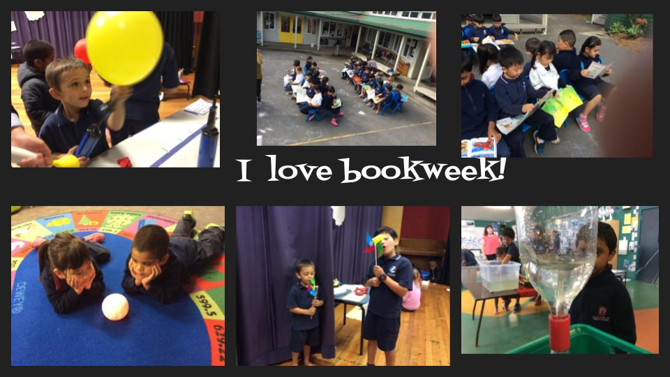 Blockhouse Bay Primary School - Book week fun