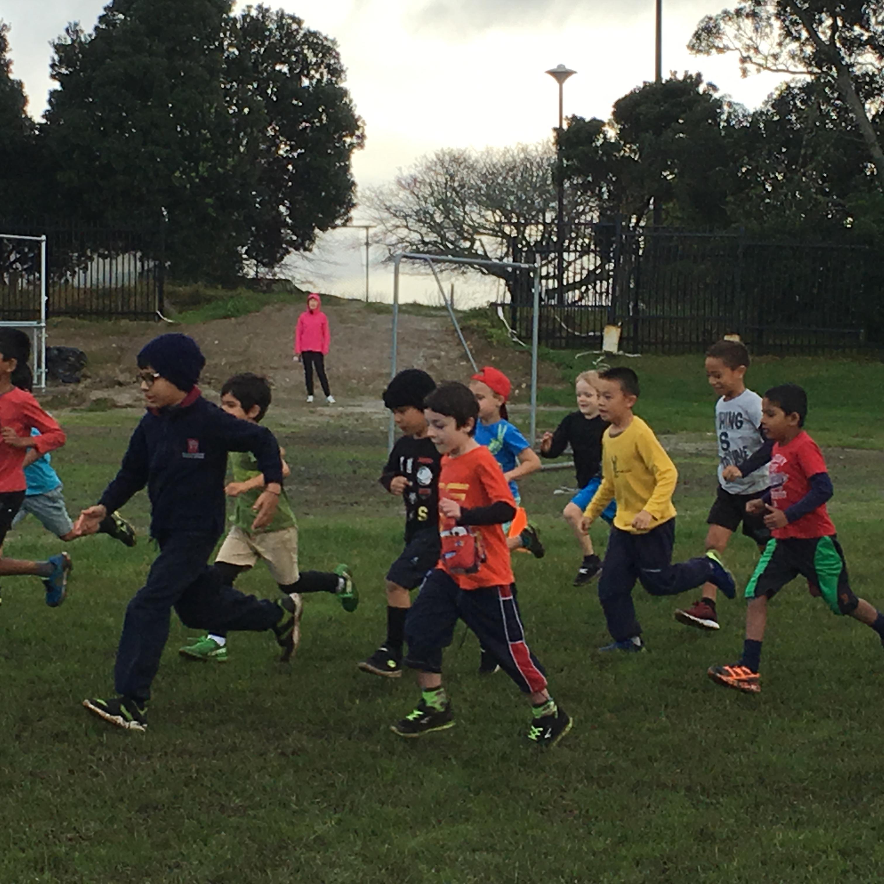 Blockhouse Bay Primary School - Junior Cross Country