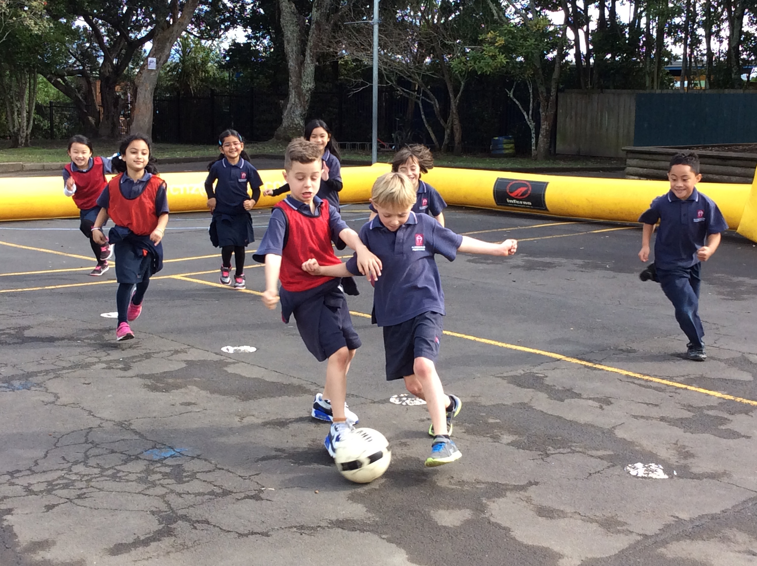 Blockhouse Bay Primary School - Football Skills