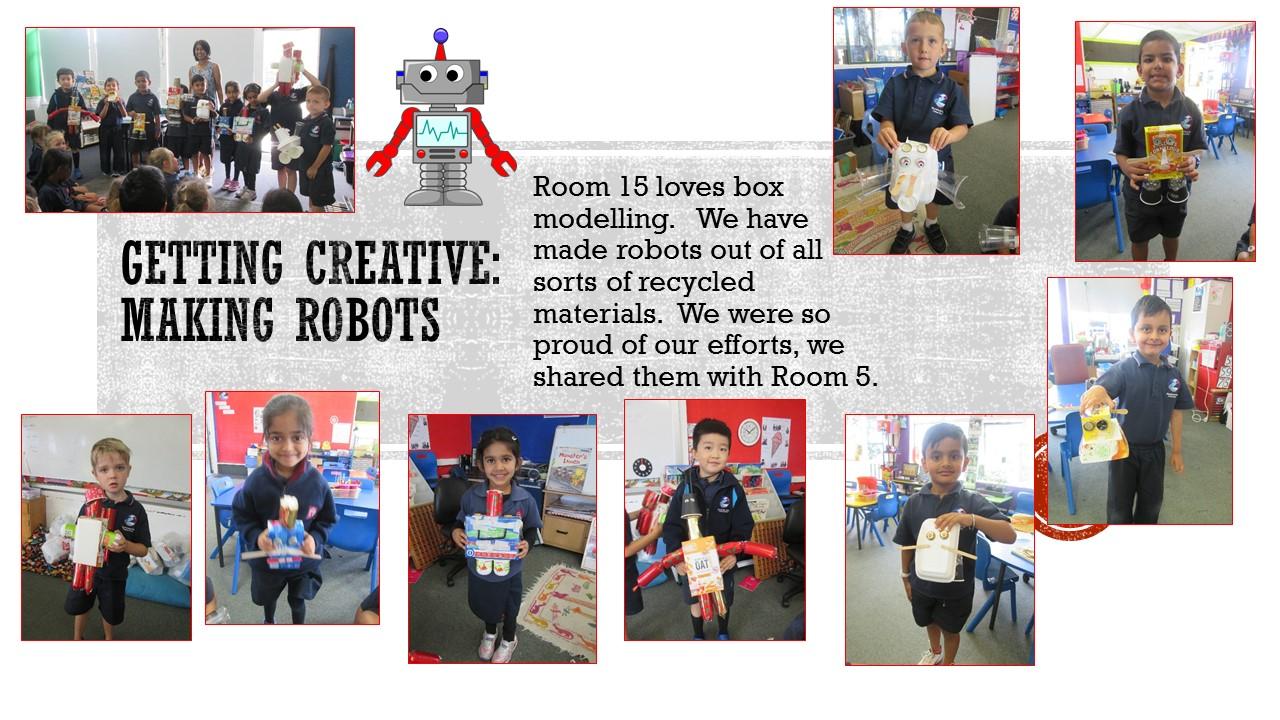 Blockhouse Bay Primary School - Making Robots