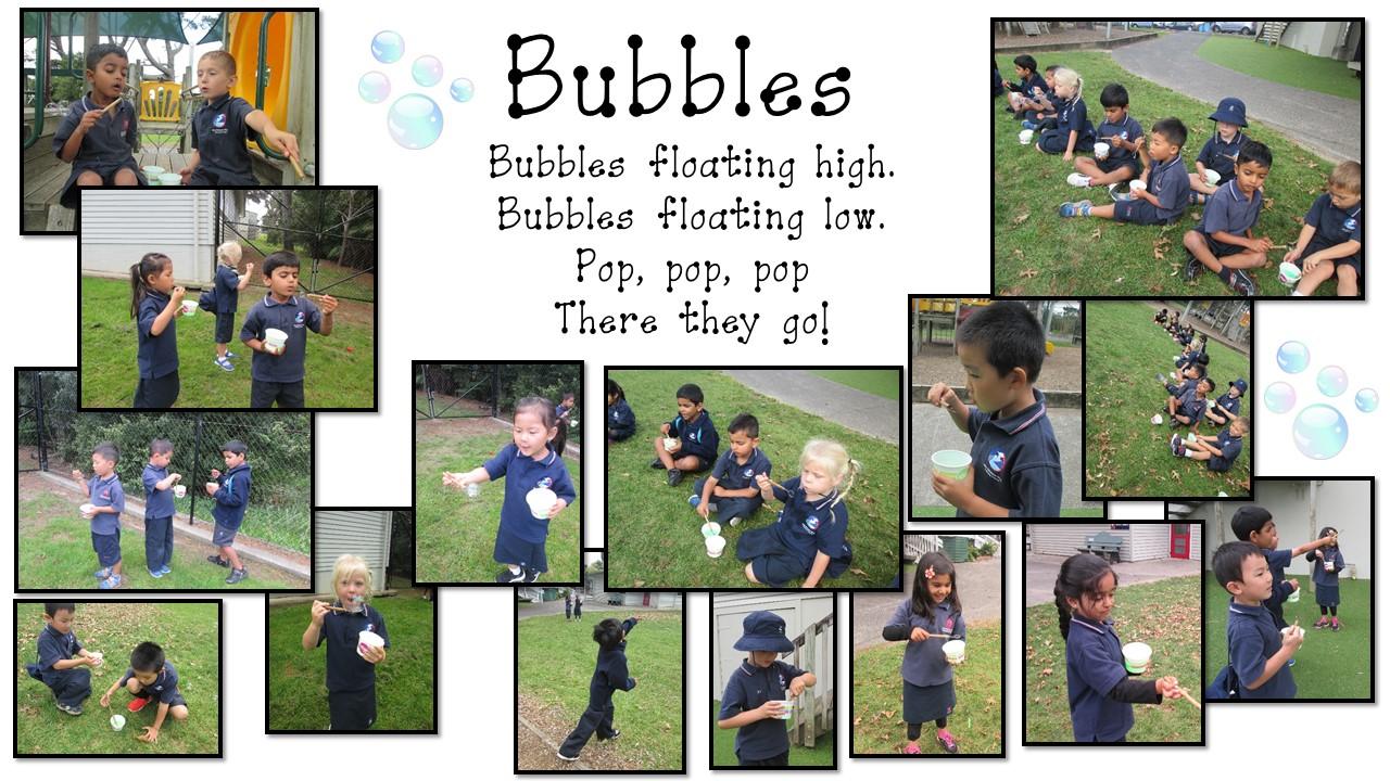 Blockhouse Bay Primary School - Bubbles