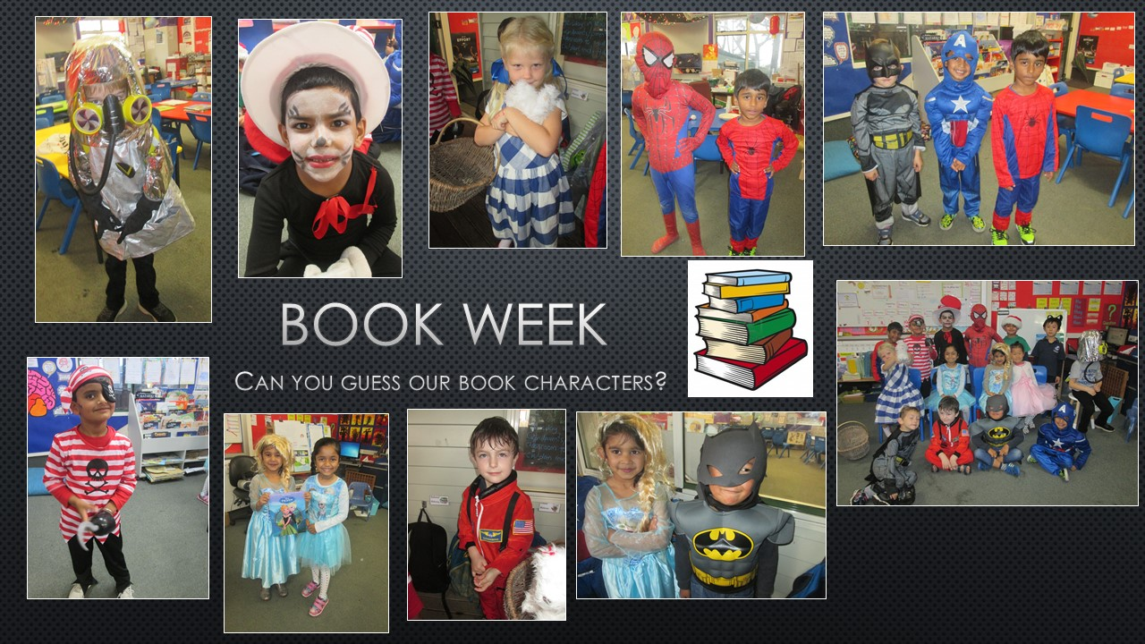 Blockhouse Bay Primary School - Book Week dress up