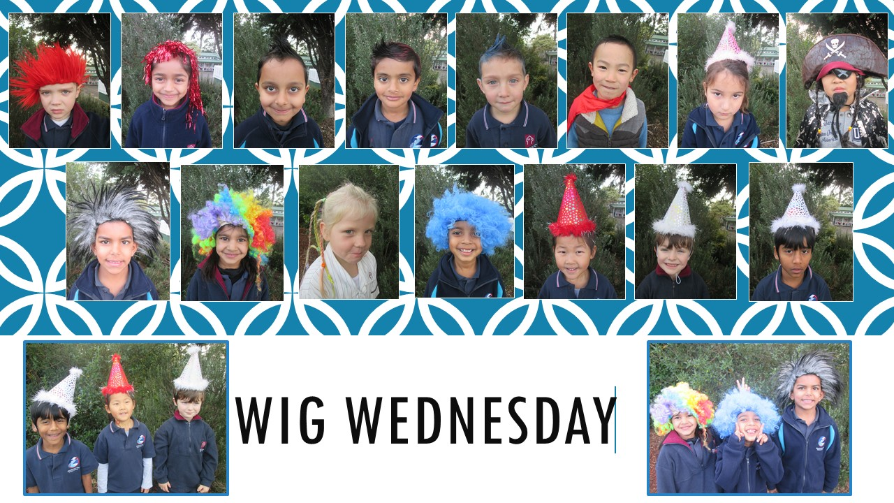 Blockhouse Bay Primary School - Wig Wednesday