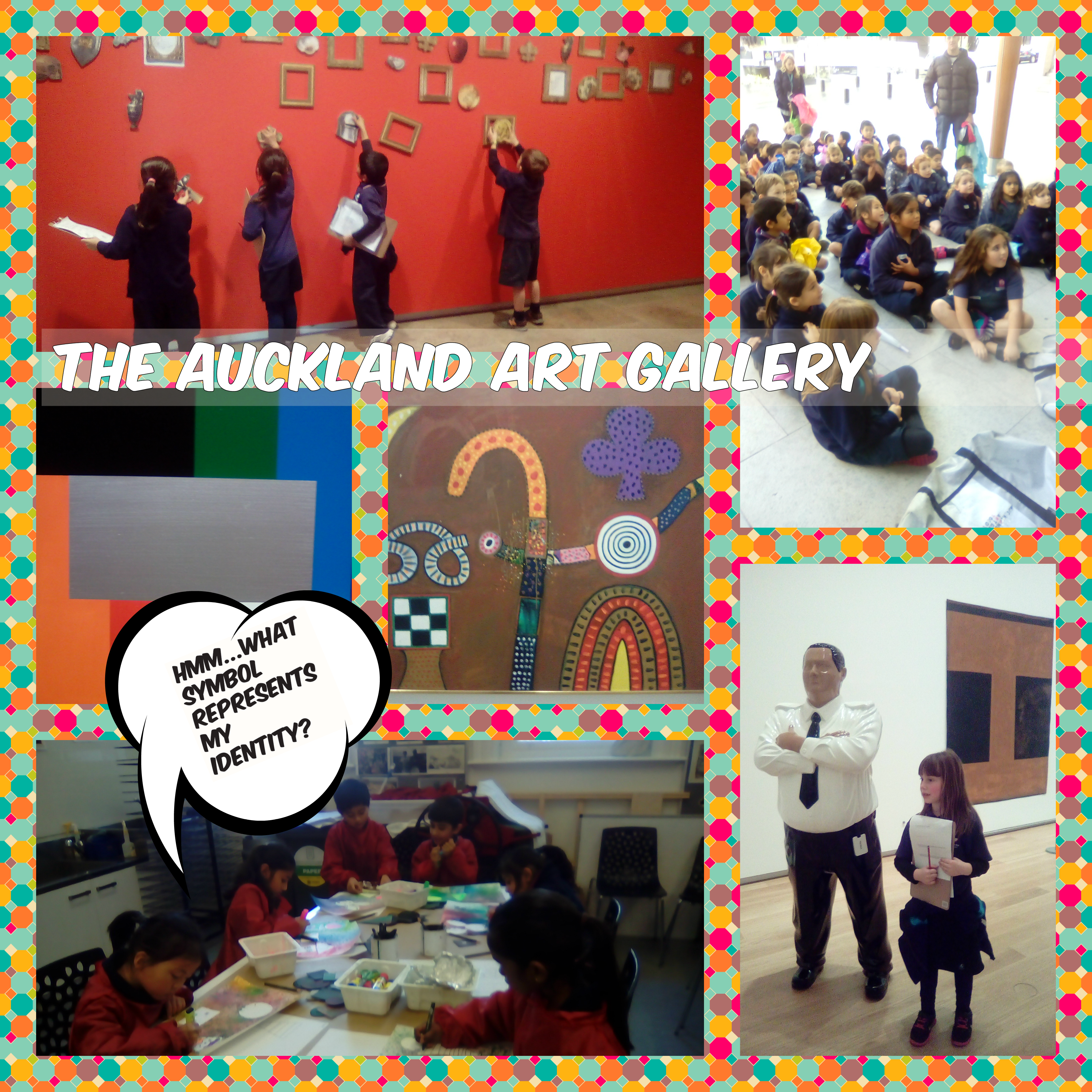 Blockhouse Bay Primary School - Auckland Art Gallery Trip