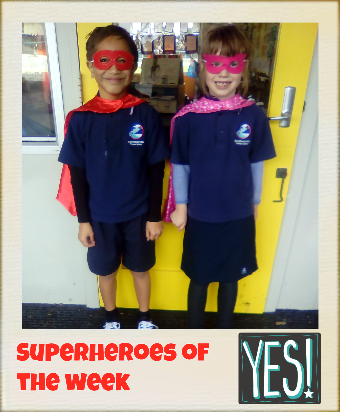Blockhouse Bay Primary School - Room 23 Superheroes of the Week