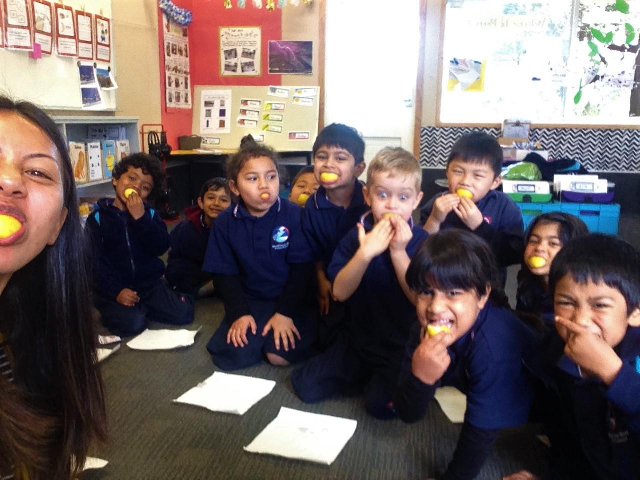 Blockhouse Bay Primary School - Super Sour Lemons!