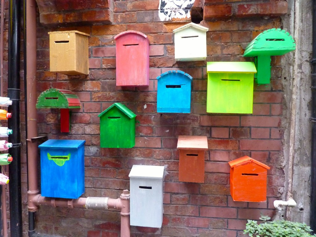 Blockhouse Bay Primary School - Creative brains - letterboxes