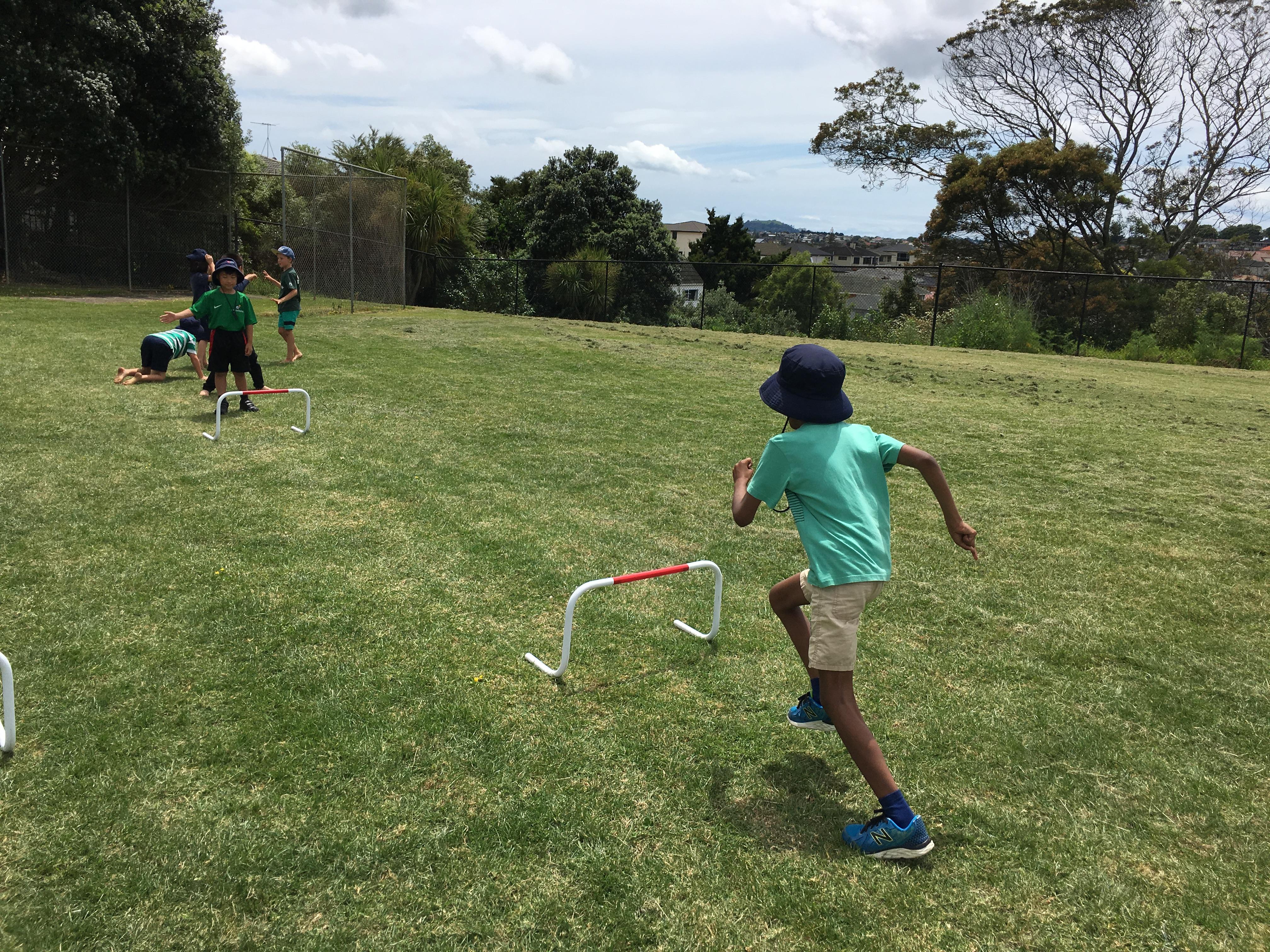 Blockhouse Bay Primary School - Junior Athletics Day