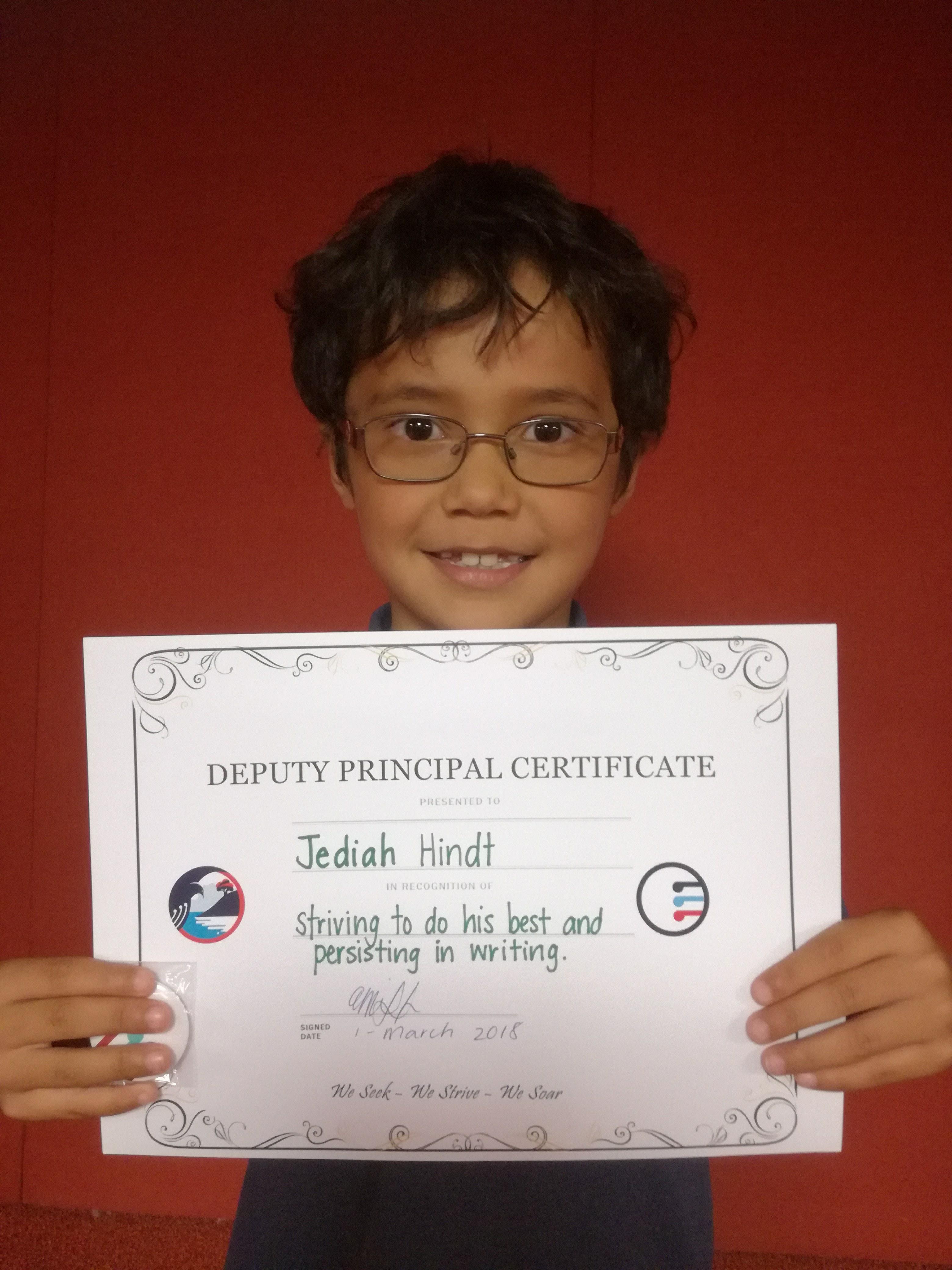 Blockhouse Bay Primary School - Deputy Principal Certificate