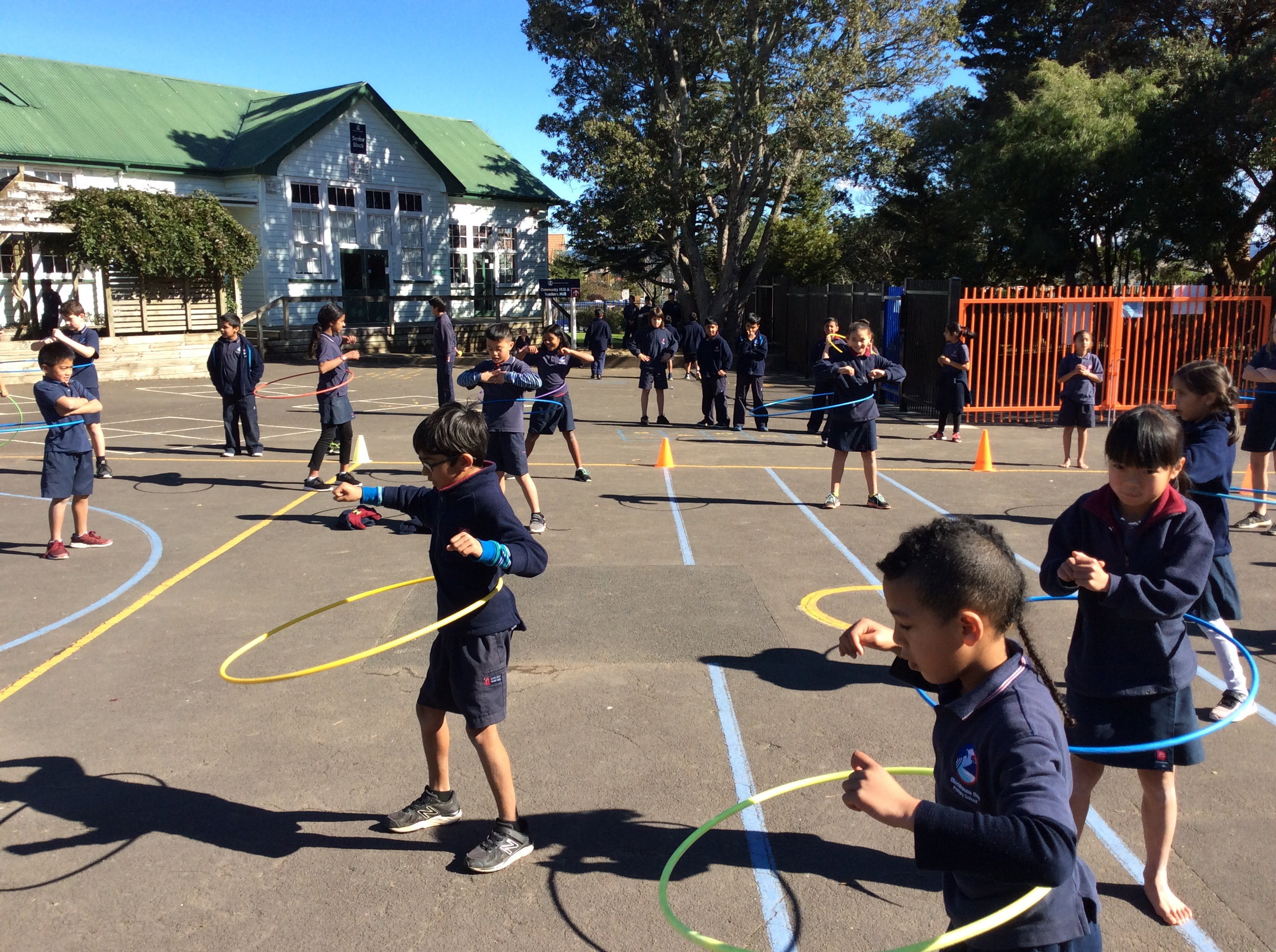 Blockhouse Bay Primary School - Hula Hoop Challenge