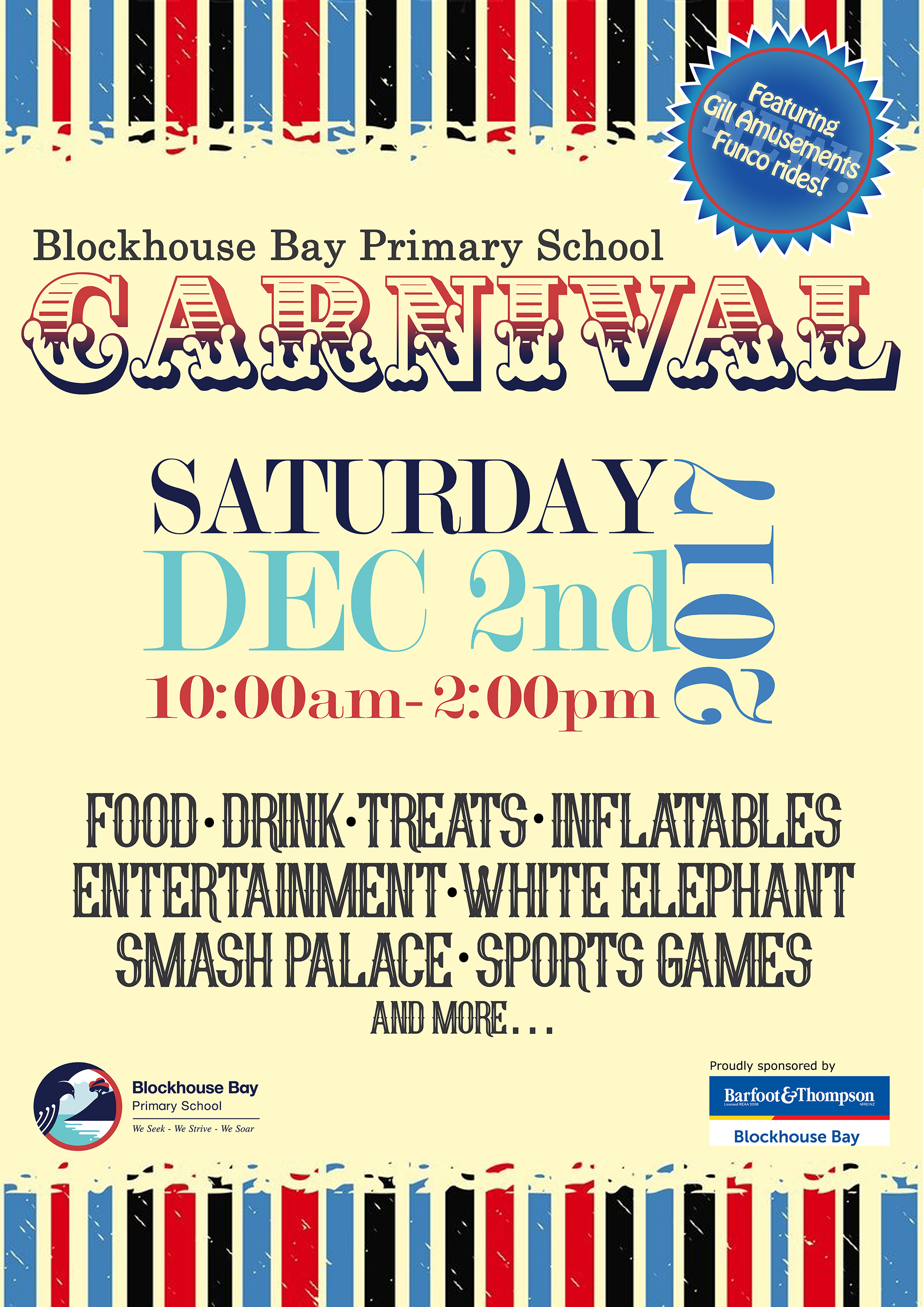 Blockhouse Bay Primary School - ** CARNIVAL **