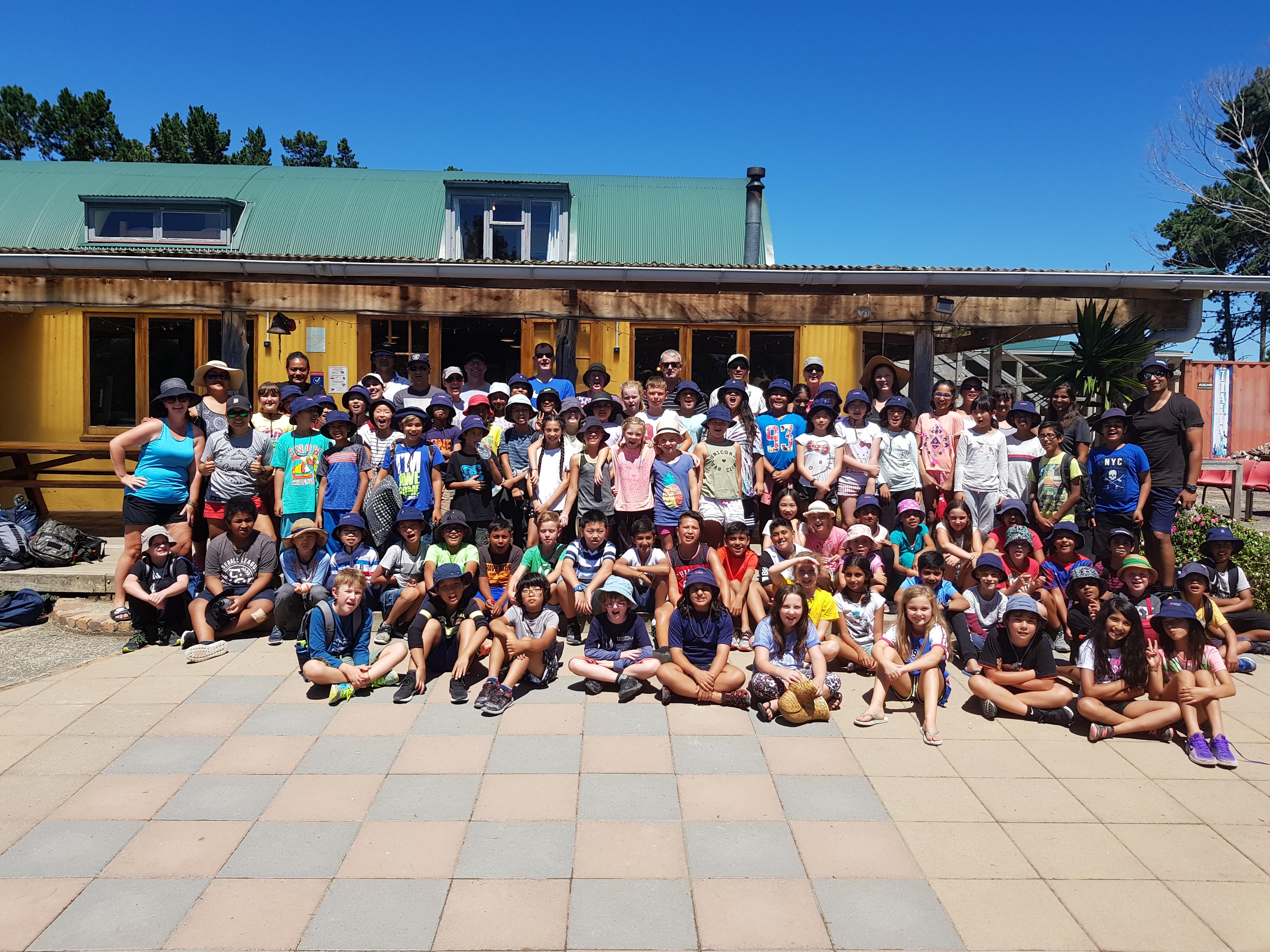 Blockhouse Bay Primary School - Camp 2018