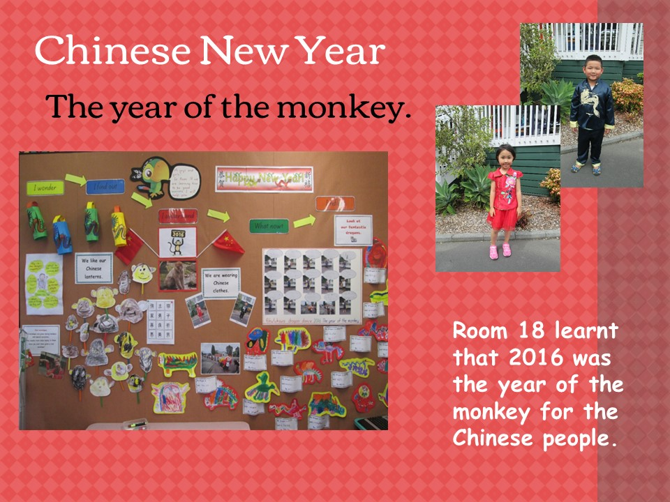 Blockhouse Bay Primary School - Chinese New year