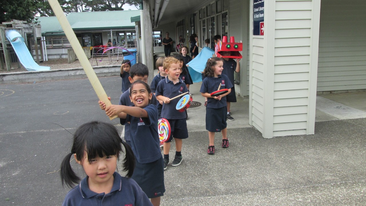 Blockhouse Bay Primary School - Chinese New Year!