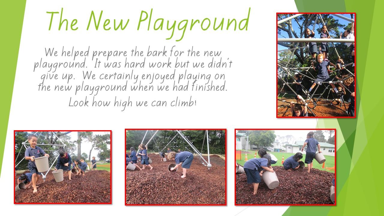 Blockhouse Bay Primary School - The new playground