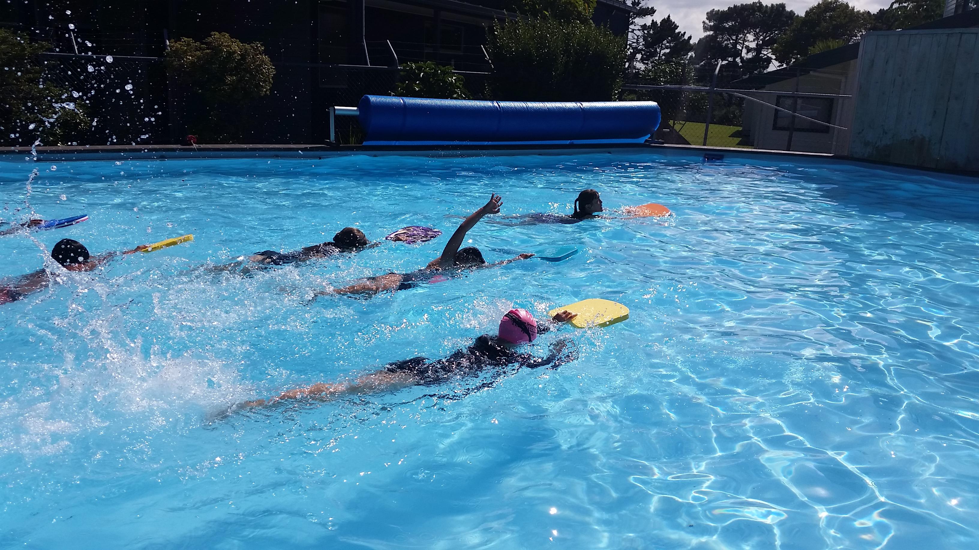 Blockhouse Bay Primary School - Swimming in Term 1