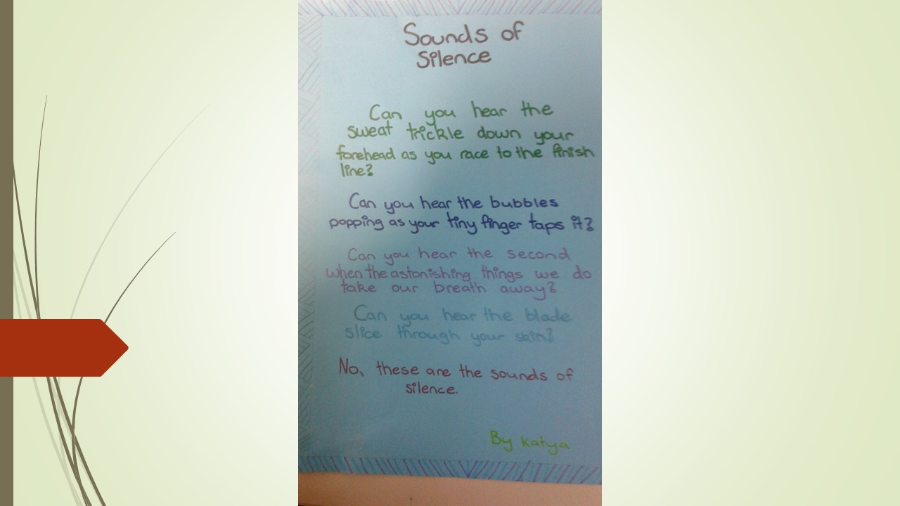 Blockhouse Bay Primary School - The Sounds of Silence