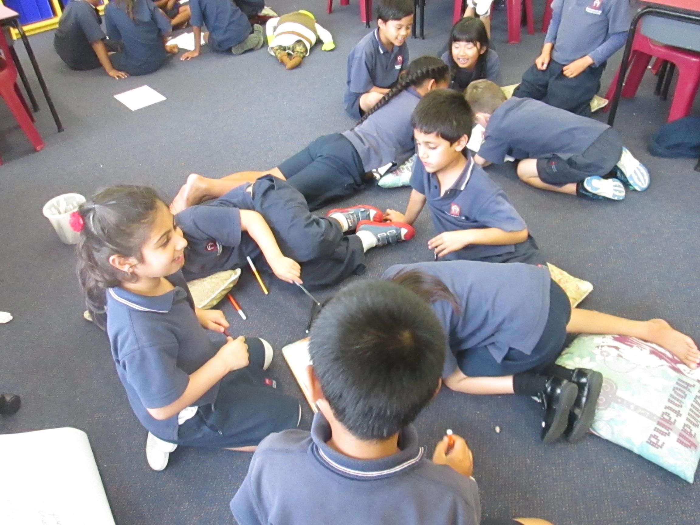 Blockhouse Bay Primary School - Class treaty Collaborative thinking