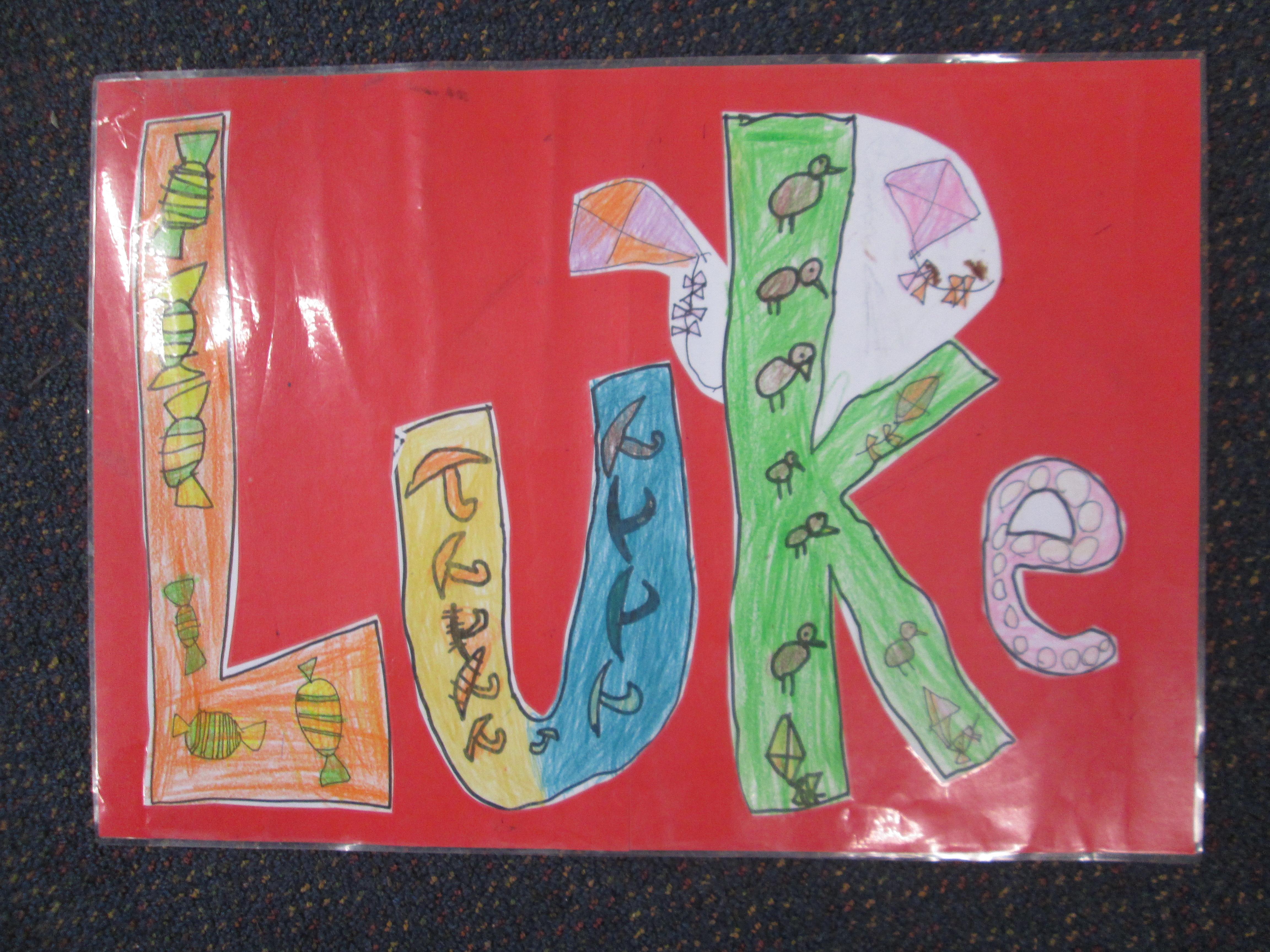 Blockhouse Bay Primary School - Name Posters