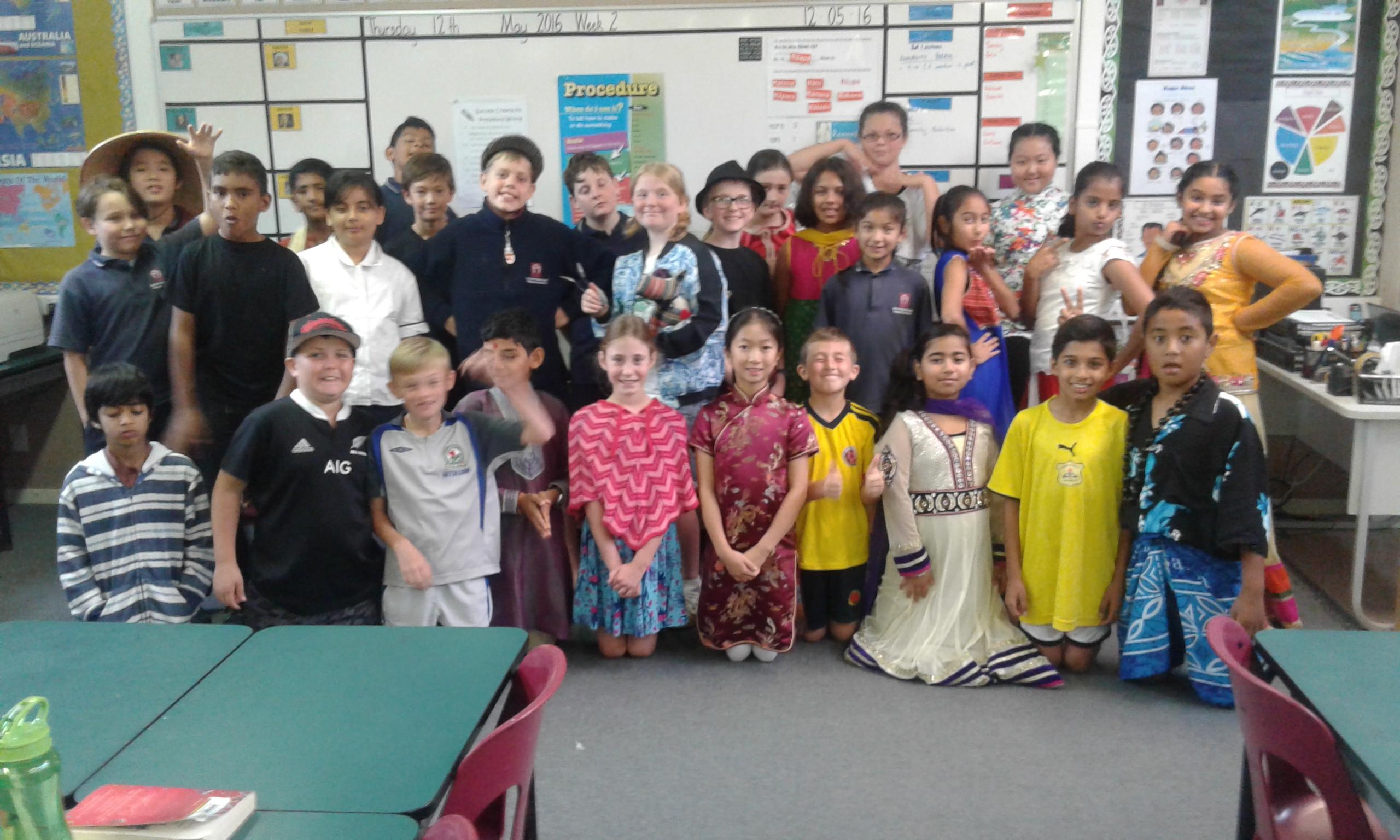 Blockhouse Bay Primary School - Diversity Day Parade (Room 2)